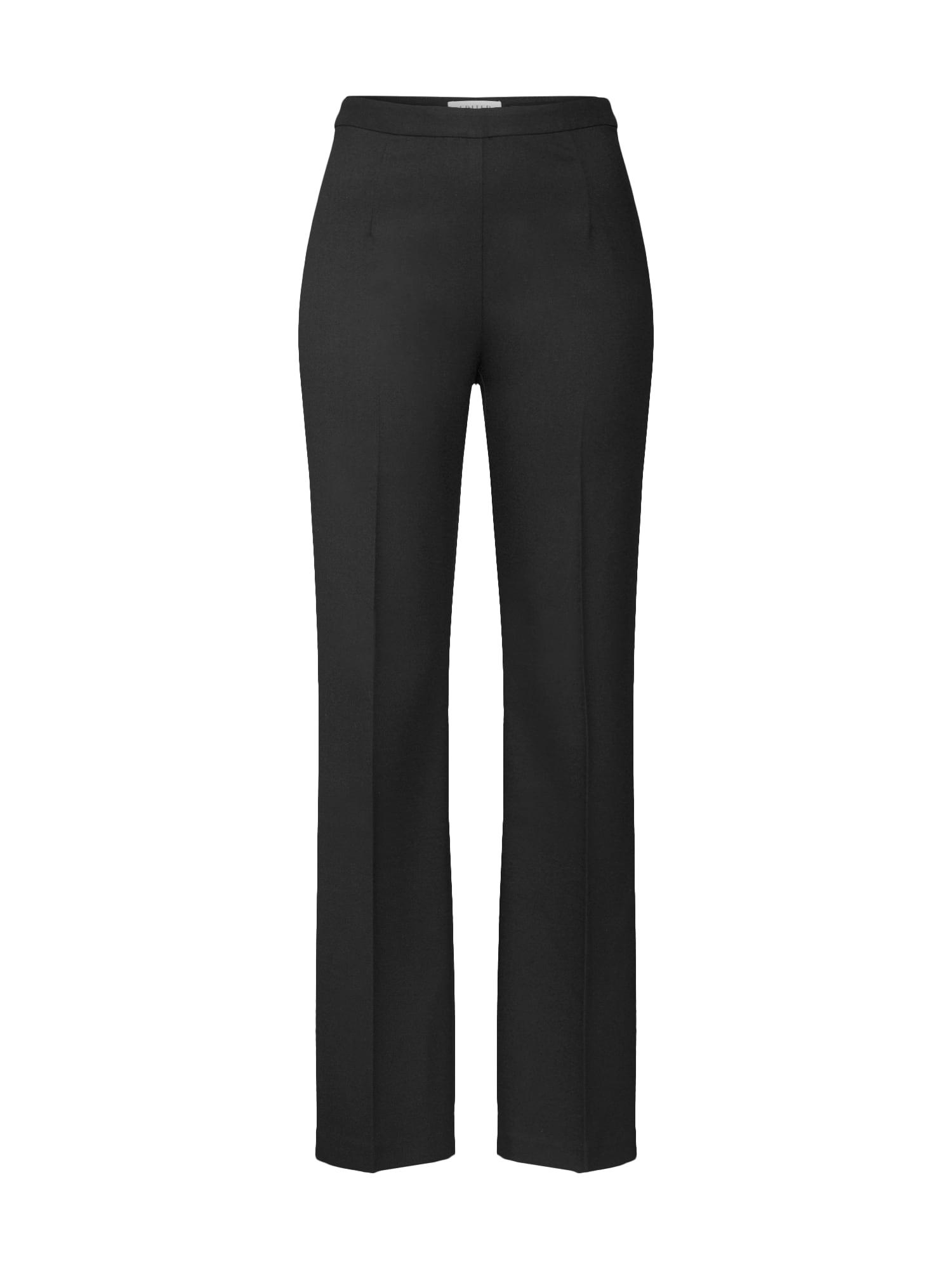 EDITED Kelnės su kantu 'Candia' juoda