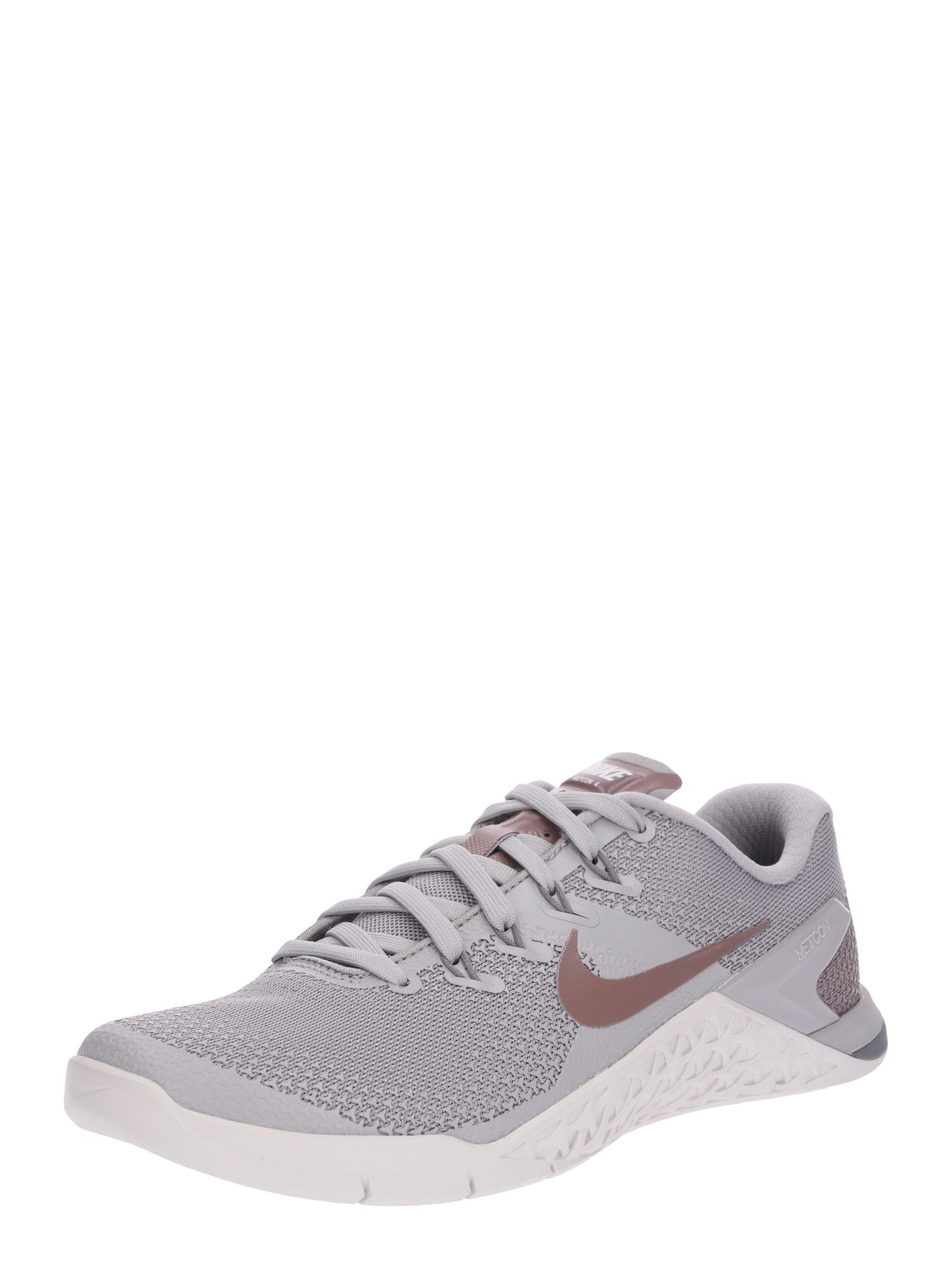 Sportovní boty Metcon 4 LM béžová šedá NIKE