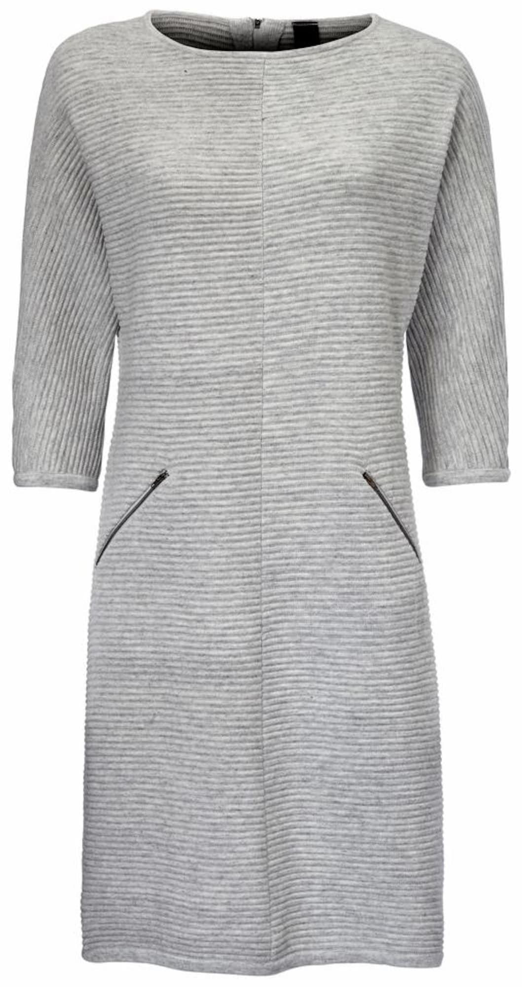 heine Šaty  šedý melír