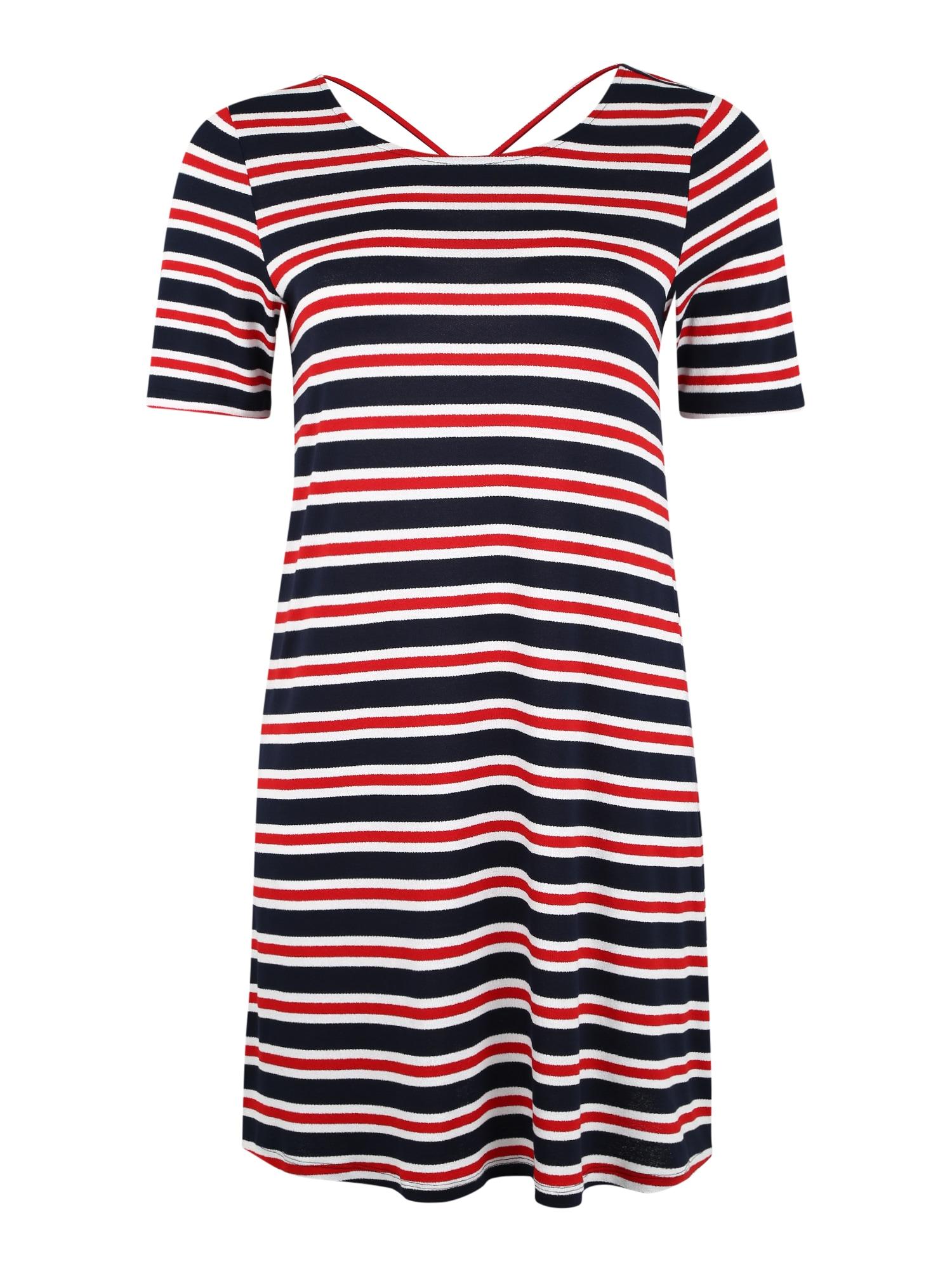 Šaty BANDANA námořnická modř červená ONLY Carmakoma