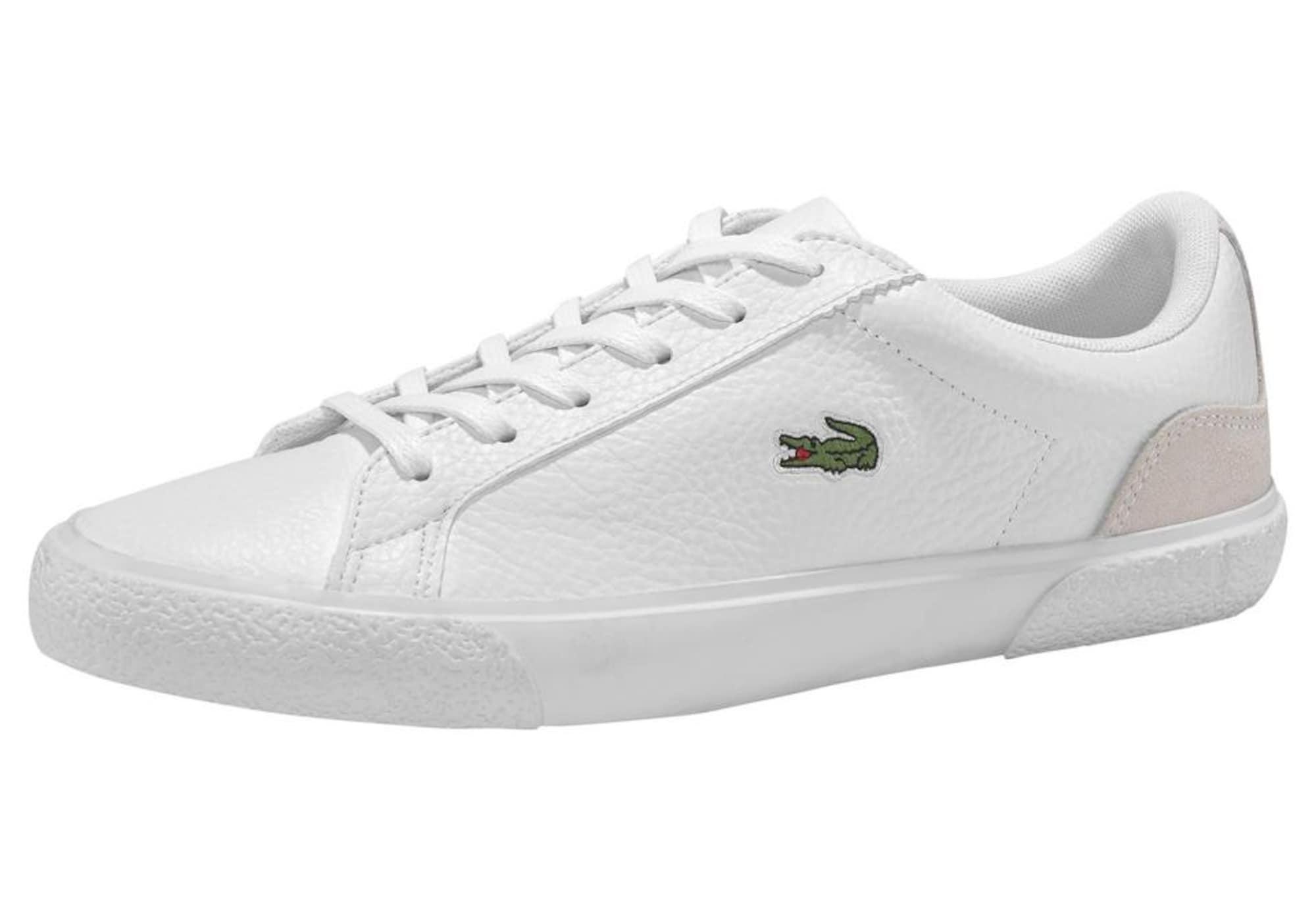 LACOSTE Nízke tenisky 'Lerond 120'  béžová / biela