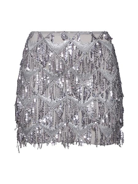 Roecke für Frauen - NEW LOOK Rock '27.04 WW GO SET DIAMOND SEQUIN SKIRT P173' silber  - Onlineshop ABOUT YOU