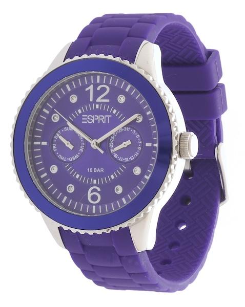 Uhren für Frauen - ESPRIT Armbanduhr ES105332006 dunkellila  - Onlineshop ABOUT YOU