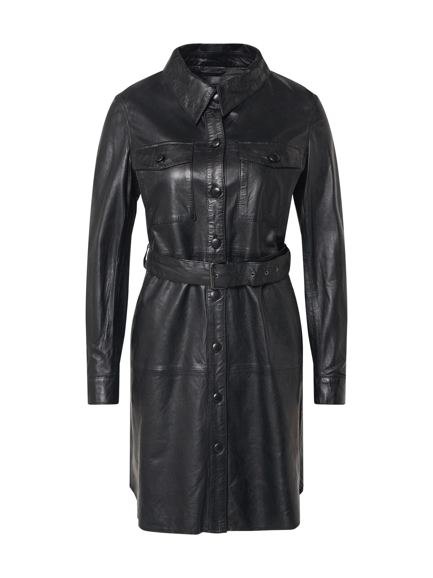 Ibana Košeľové šaty 'Zola'  čierna