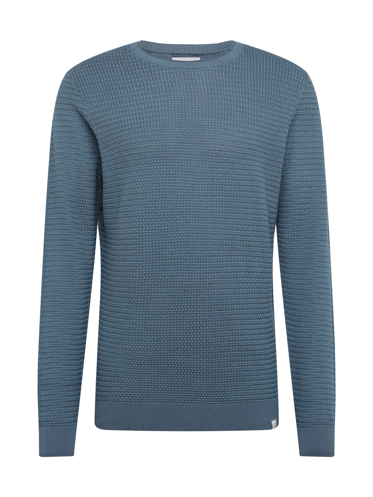 NOWADAYS Megztinis 'Basket Stitch Sweater' mėlyna