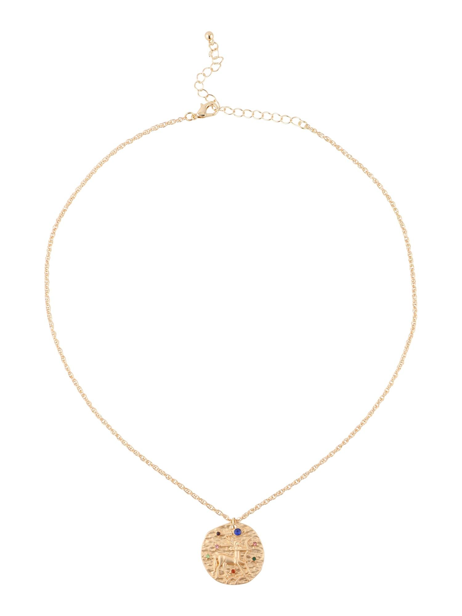 ABOUT YOU Lanțuri 'Sagittarius Zodiac'  auriu