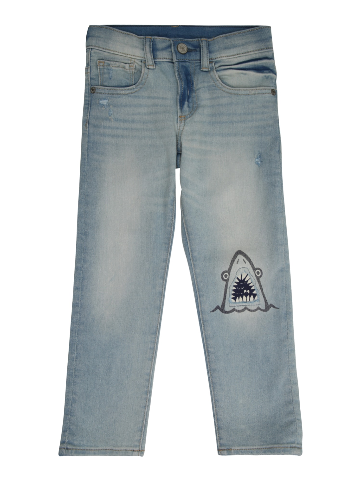 Džíny RR SHARK SLM modrá džínovina GAP