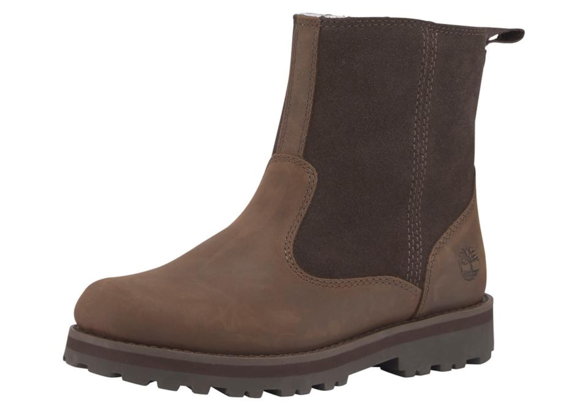 TIMBERLAND Auliniai batai su kulniuku 'Courma' ruda