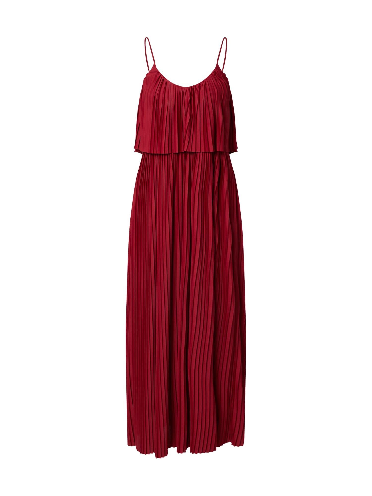 ABOUT YOU Vasarinė suknelė 'Nadia' rožinė / raudona