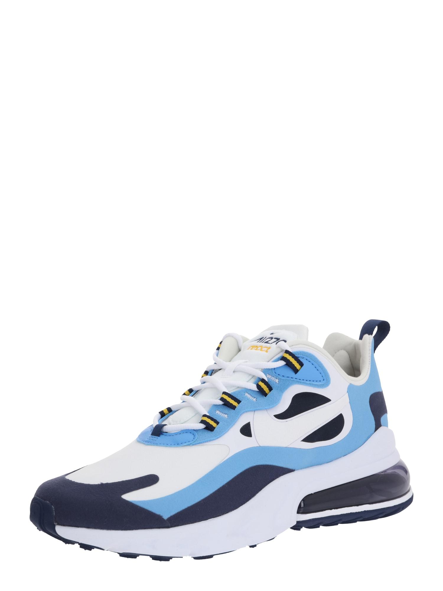 Nike Sportswear Nízke tenisky 'Nike Air Max 270 React'  modré / biela