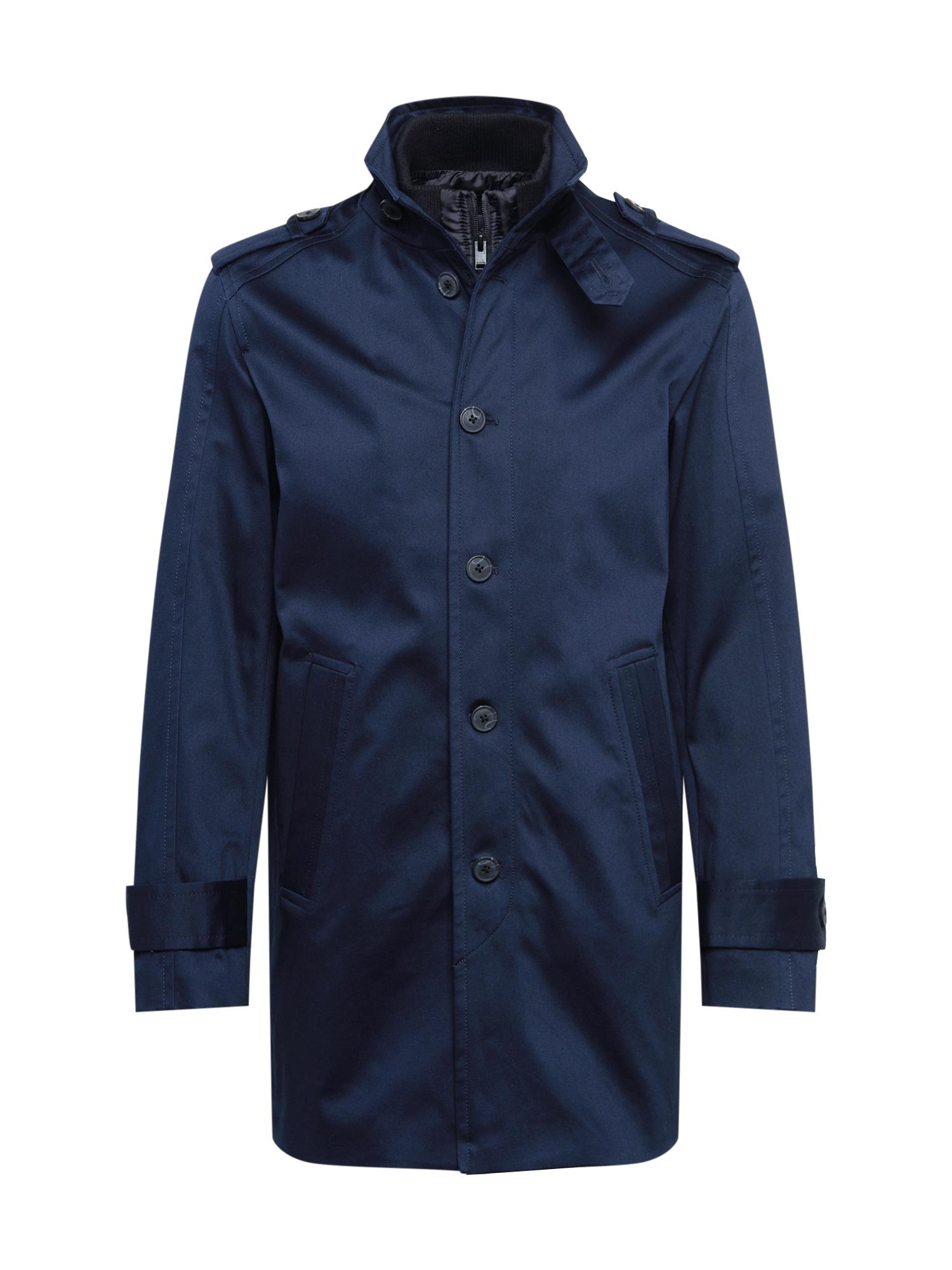 SELECTED HOMME Rudeninis-žieminis paltas 'NOAH' tamsiai mėlyna