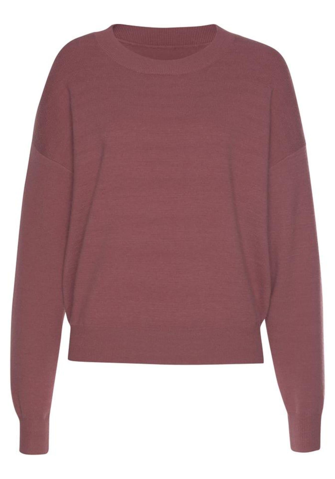 BUFFALO Megztinis rausvai violetinė spalva