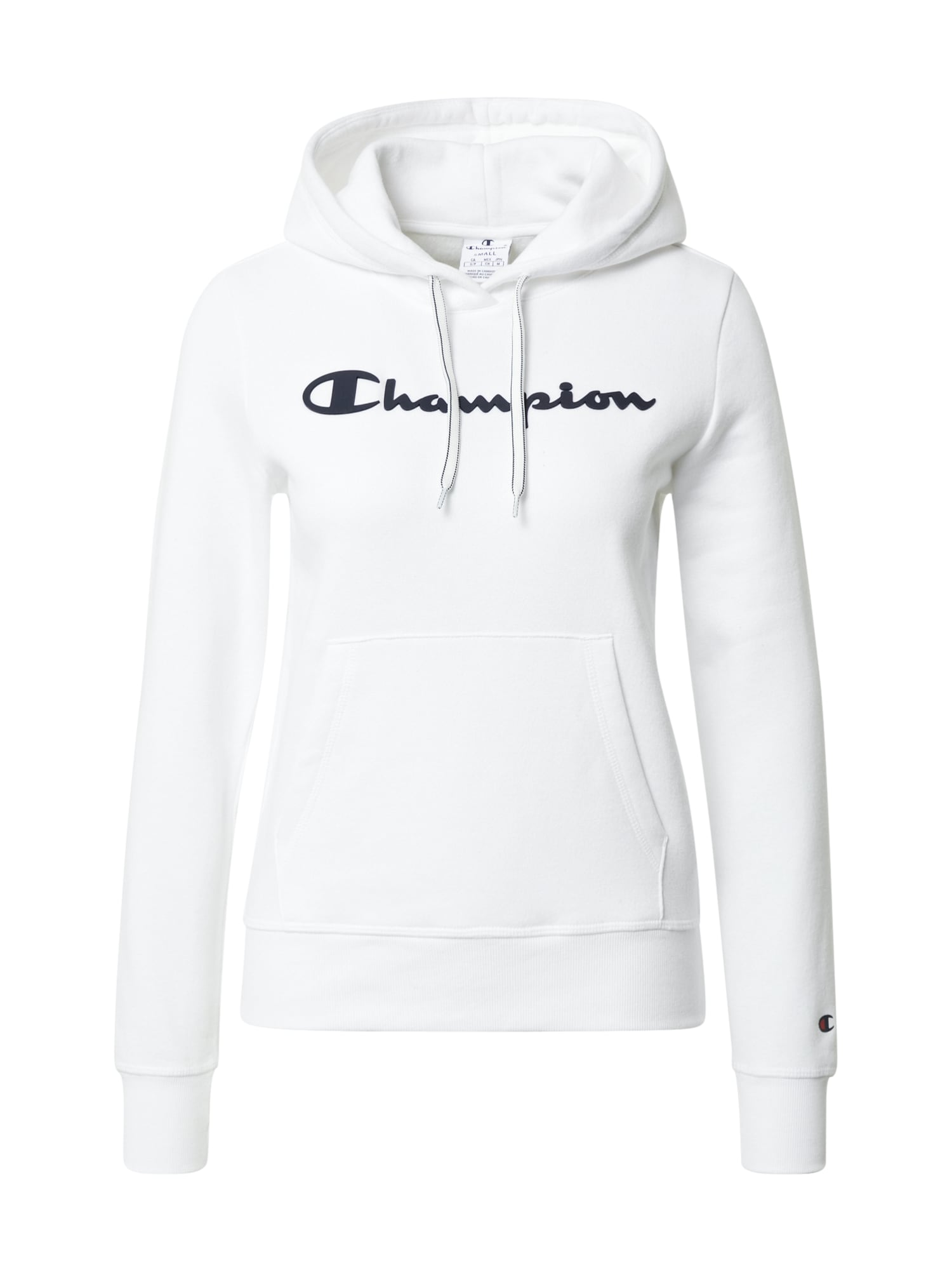 Champion Reverse Weave Megztinis be užsegimo juoda / balta