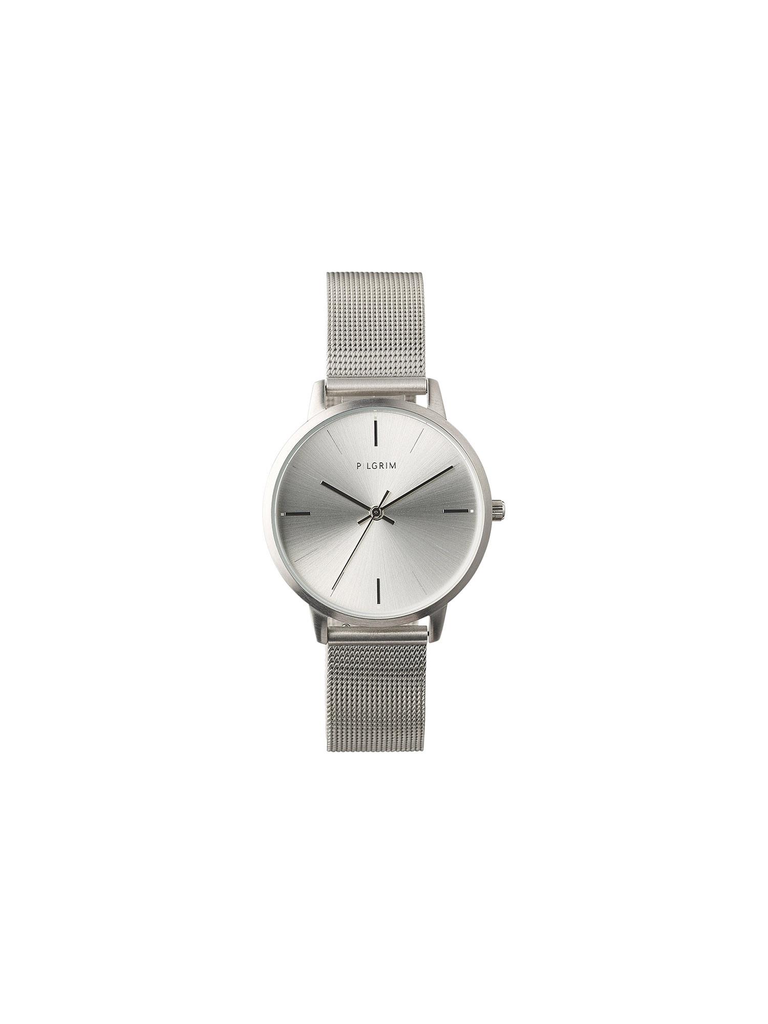 Pilgrim Analoginis (įprasto dizaino) laikrodis sidabrinė