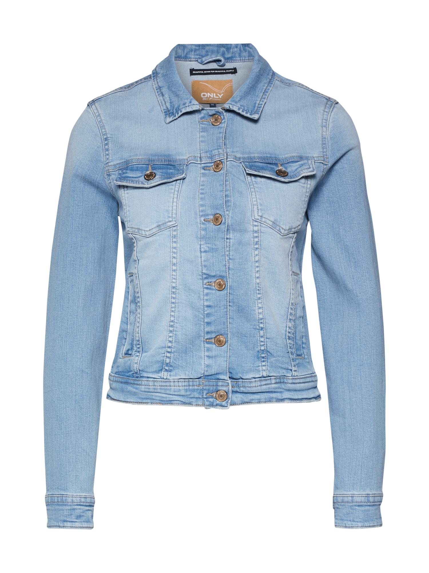 ONLY Demisezoninė striukė tamsiai (džinso) mėlyna