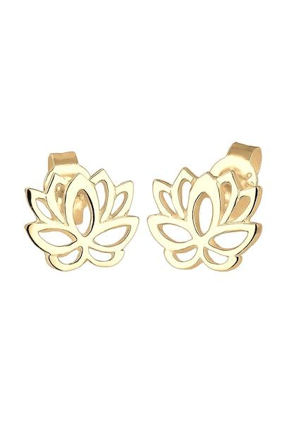 Ohrringe für Frauen - ELLI Ohrringe 'Lotusblume' gold  - Onlineshop ABOUT YOU