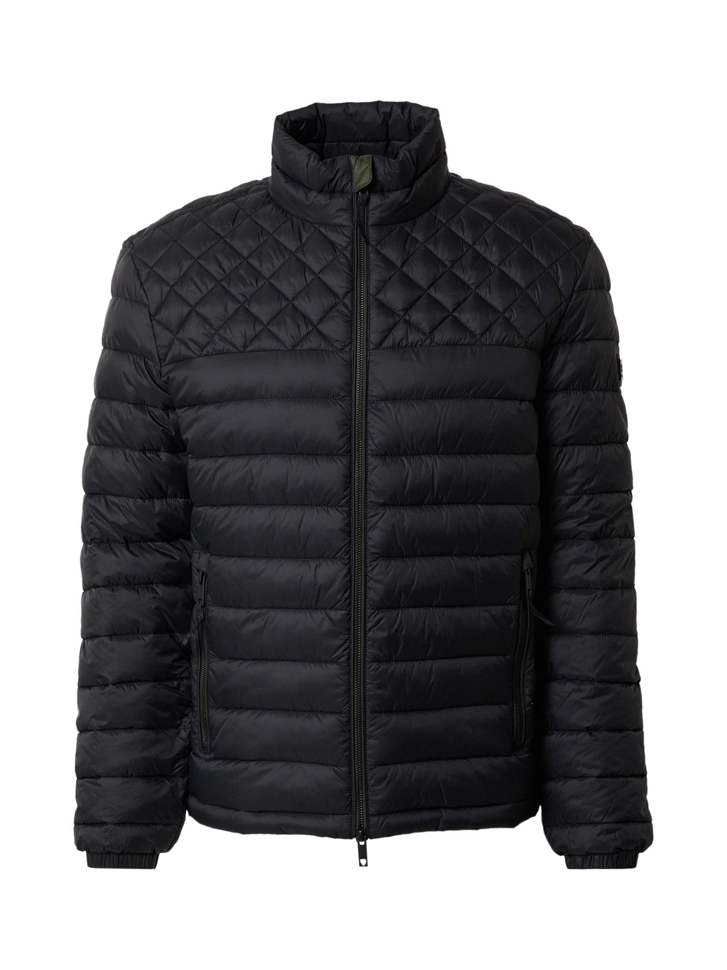STRELLSON Prechodná bunda '4 Seasons'  čierna