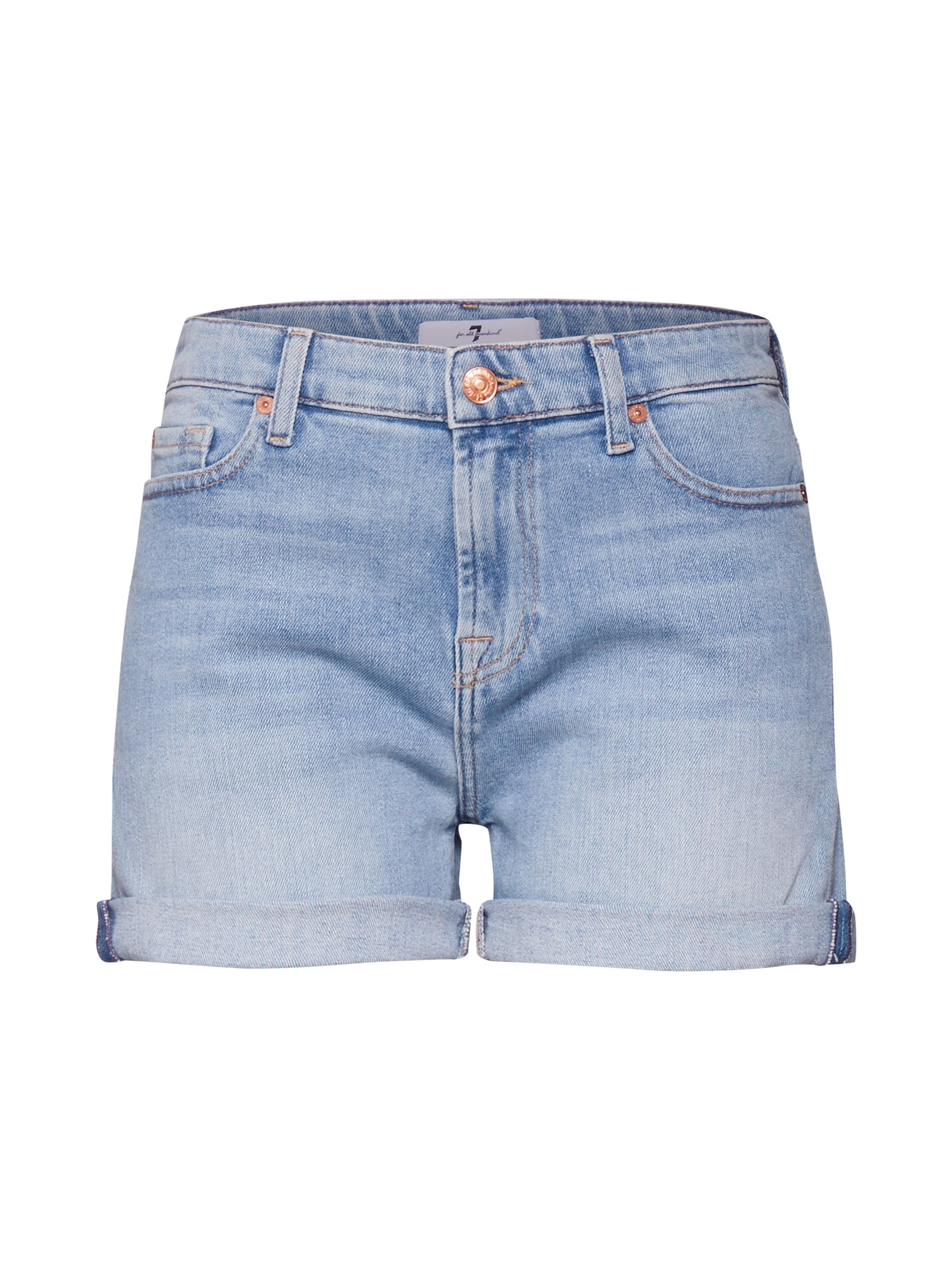 7 for all mankind Džinsai 'BOY SHORTS' tamsiai (džinso) mėlyna