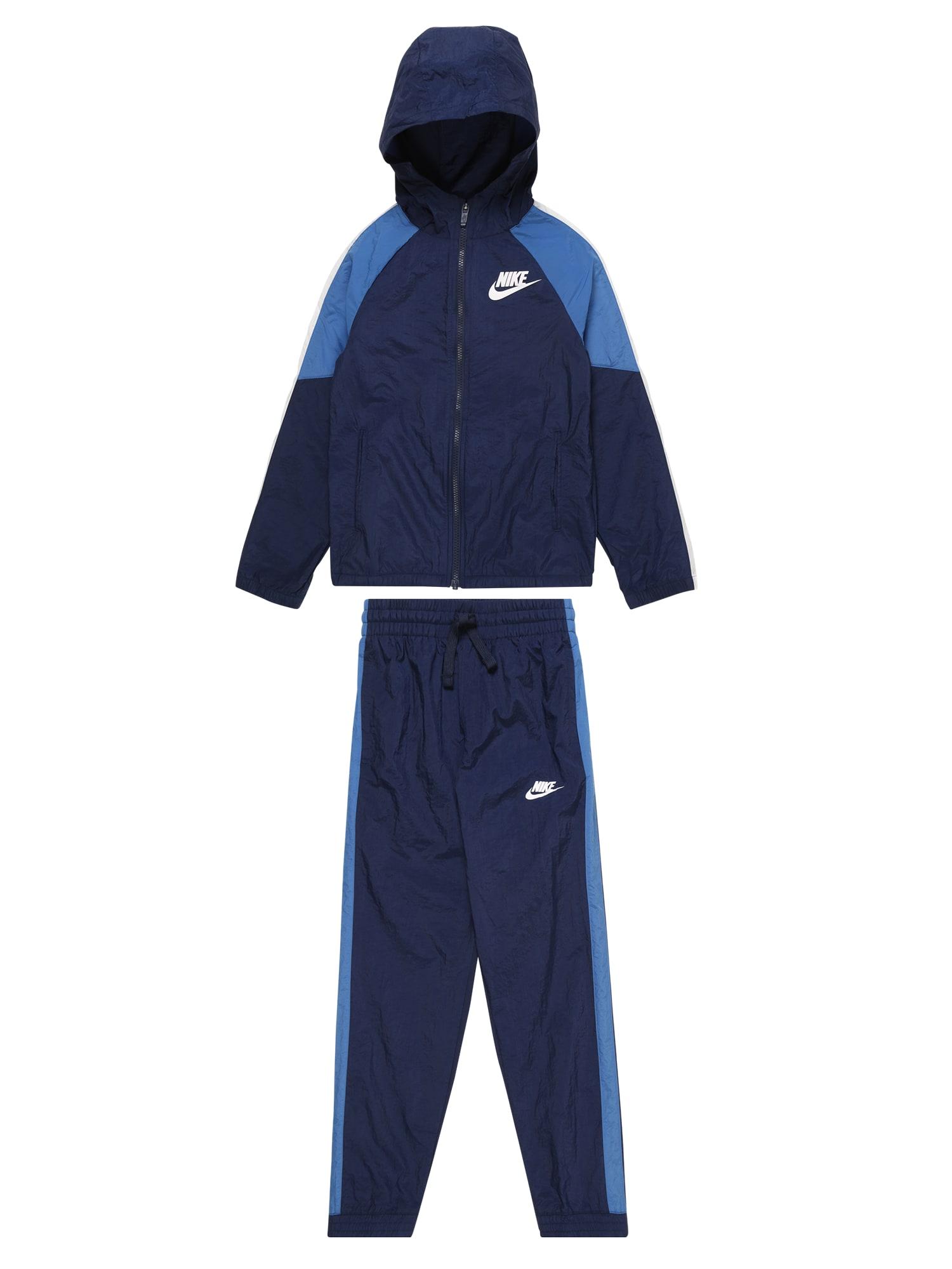 Nike Sportswear Kostiumas šviesiai mėlyna / tamsiai mėlyna
