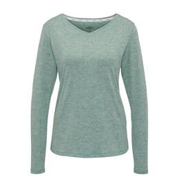 VENICE BEACH Damen Langarmshirt Funny DMELB 15127-811 grün | 04049254374822