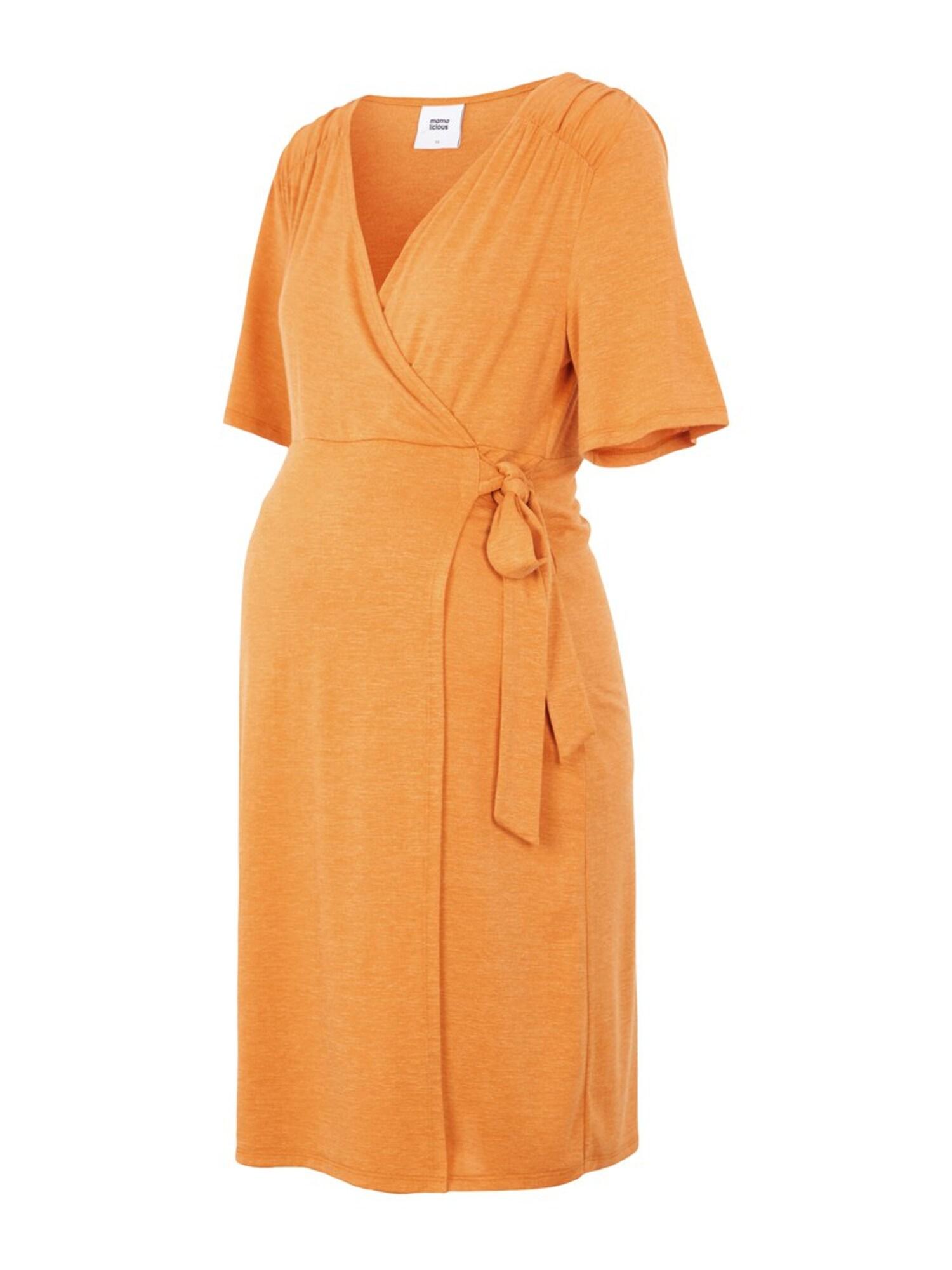MAMALICIOUS Šaty 'LENA'  zlatá žltá