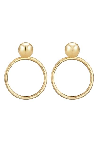Ohrringe - Ohrringe Kreis Geo, Ohrstecker › ELLI › gold  - Onlineshop ABOUT YOU