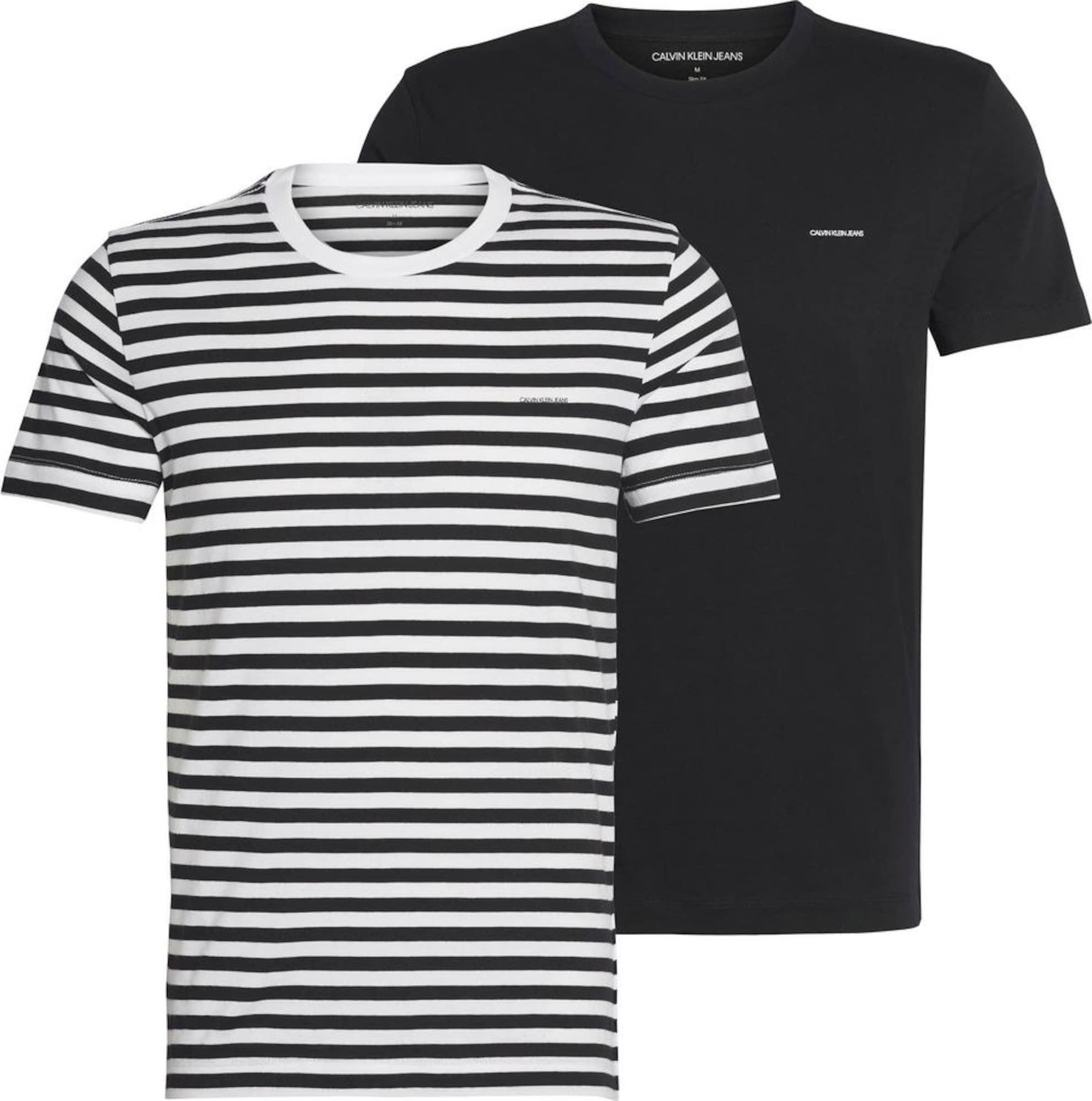 Calvin Klein Jeans Marškinėliai mišrios spalvos
