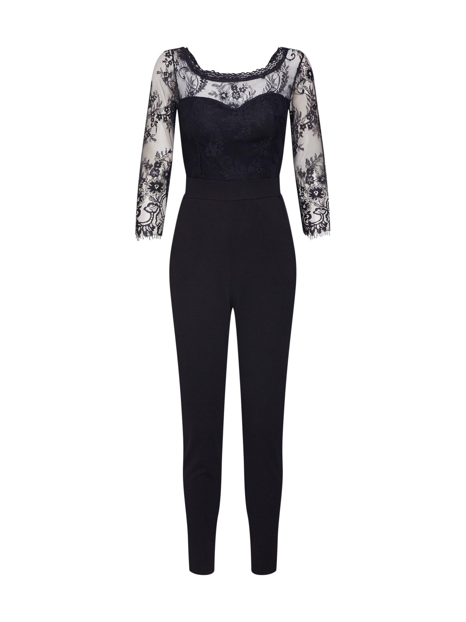 WAL G. Kombinezono tipo kostiumas 'TS 4737' juoda