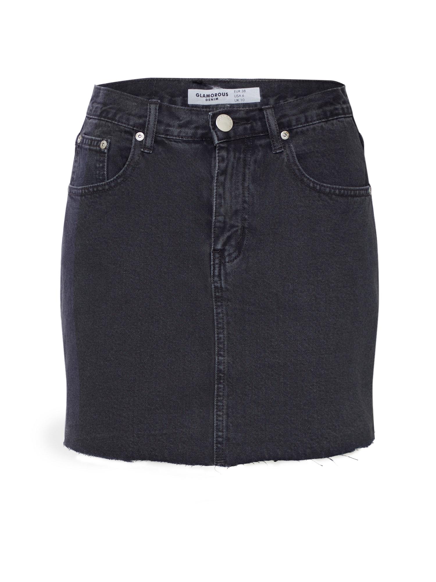 Jeansrock | Bekleidung > Röcke > Jeansröcke | Glamorous