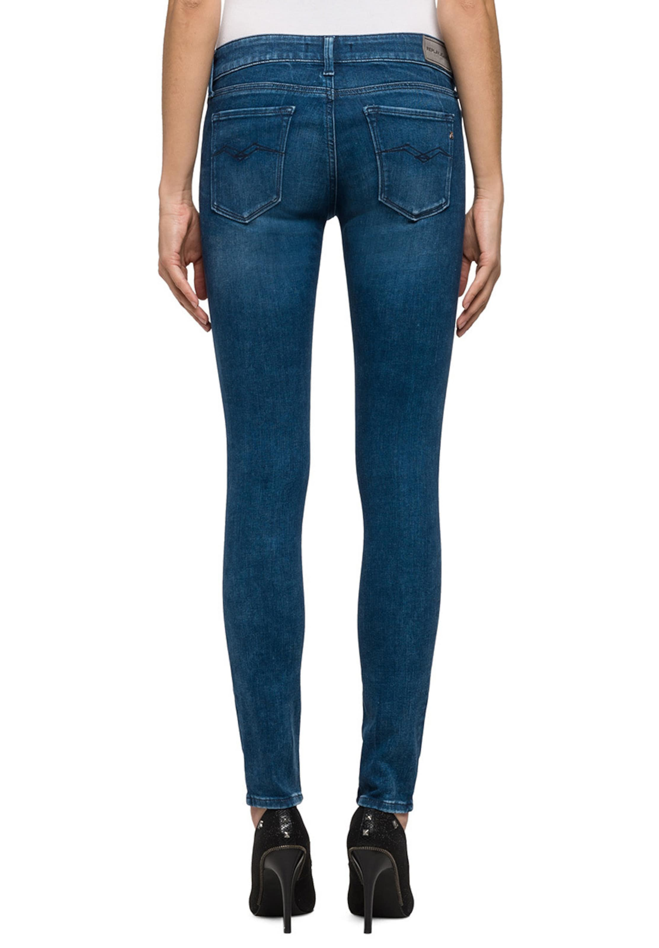 REPLAY Damen Jeans LUZ dark blue blau | 08054959845009