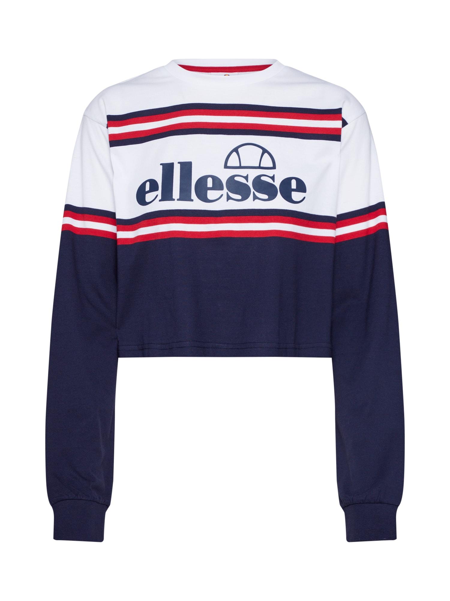 ELLESSE Megztinis 'EGLI' balta / tamsiai mėlyna