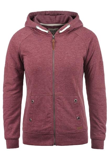 Jacken für Frauen - Desires Sweatjacke 'Mandy' bordeaux  - Onlineshop ABOUT YOU