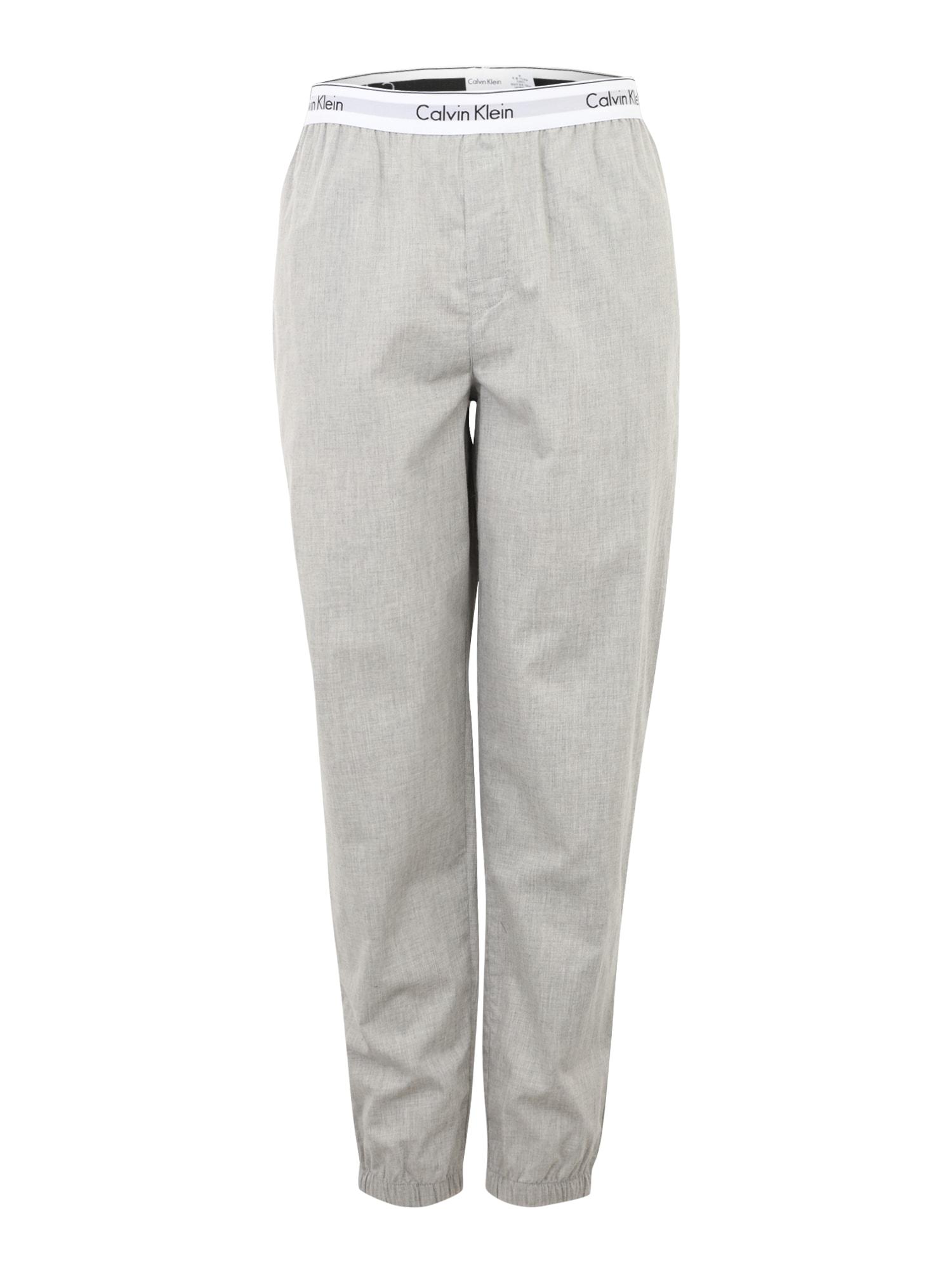 Pyžamové kalhoty JOGGER šedá Calvin Klein Underwear