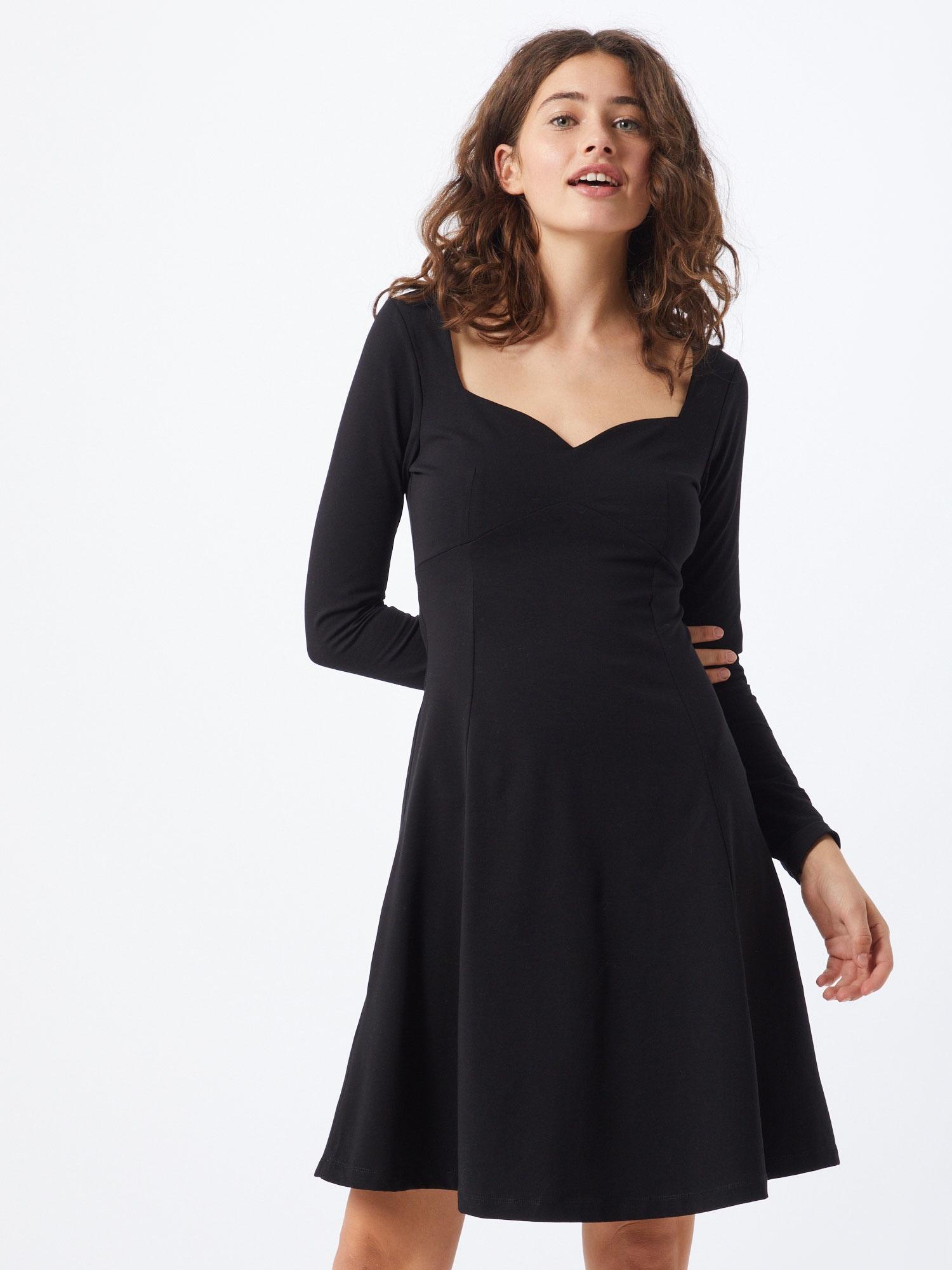 ABOUT YOU Cocktailklänning 'Anusha'  svart