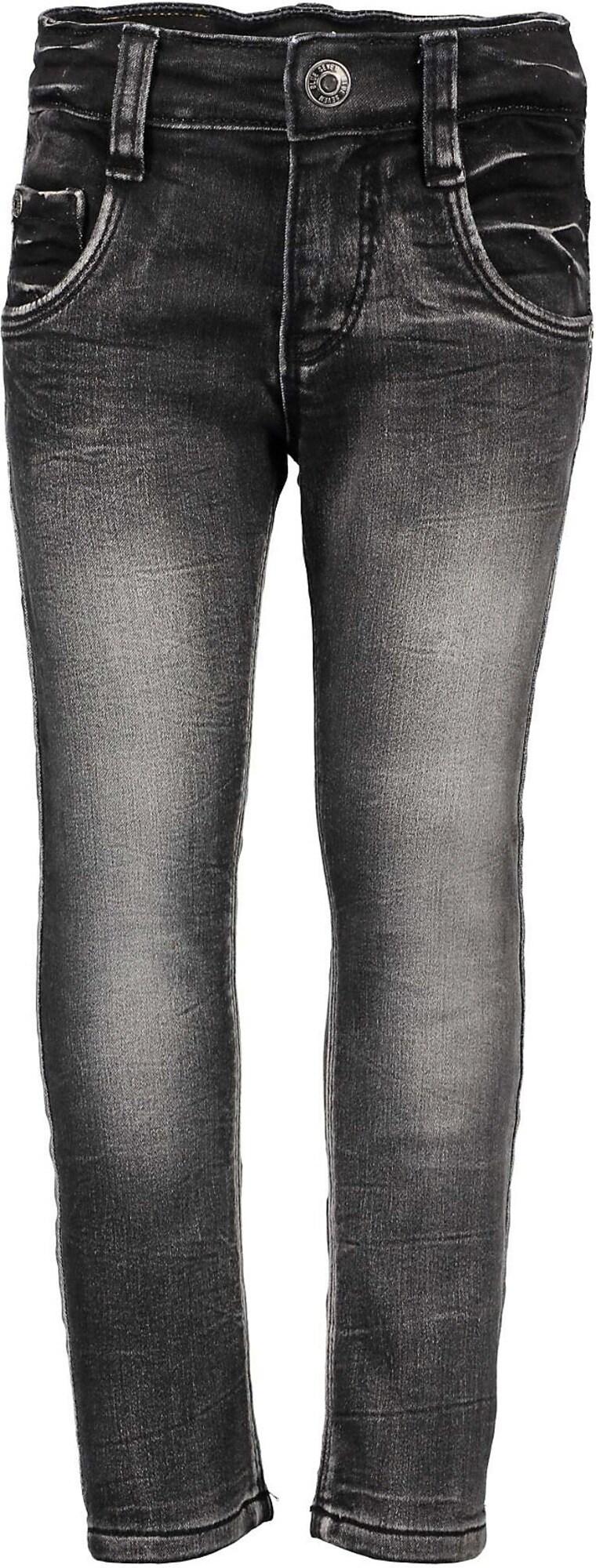 BLUE SEVEN Džinsai juodo džinso spalva