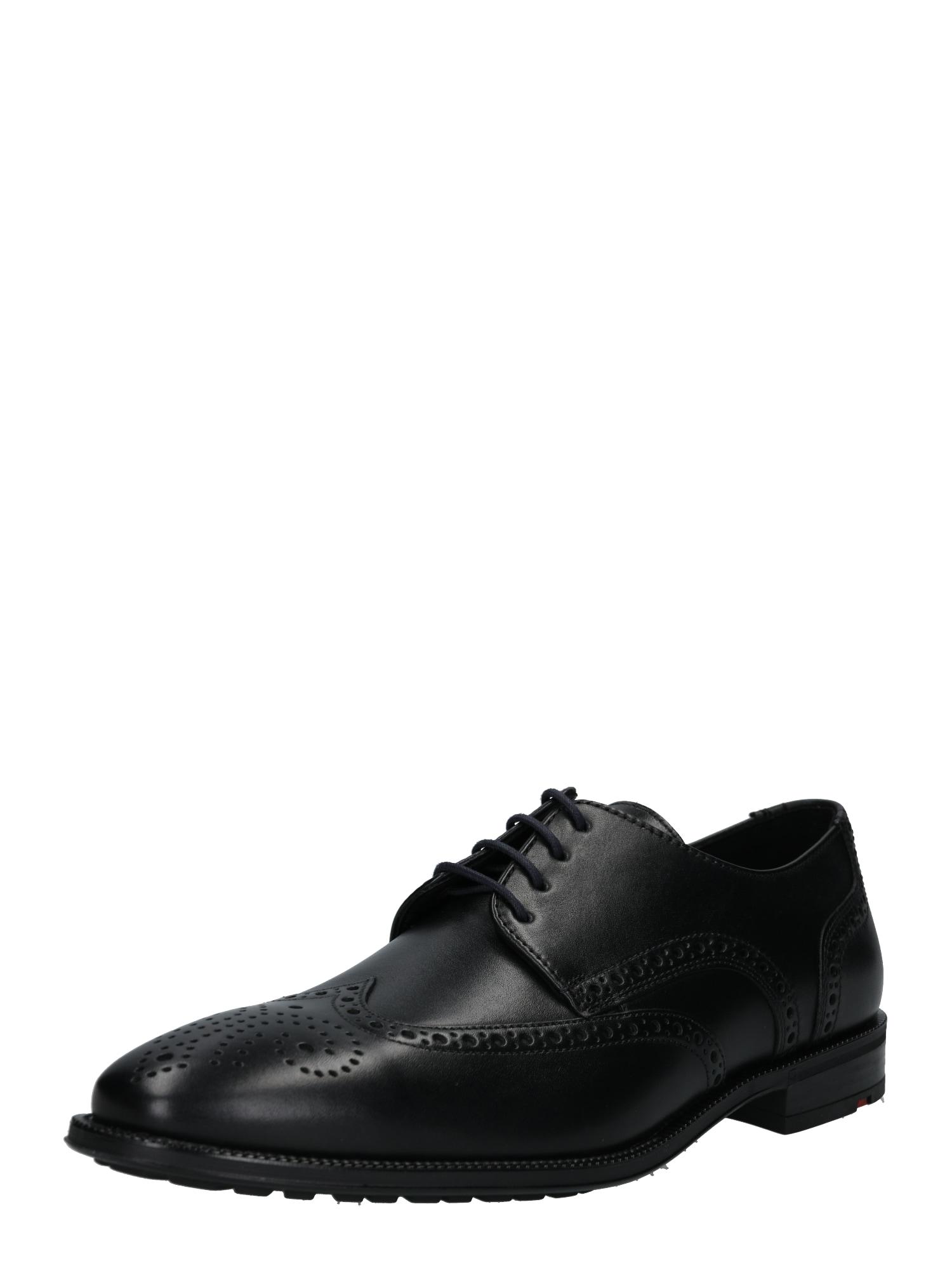 Šněrovací boty Jan černá LLOYD