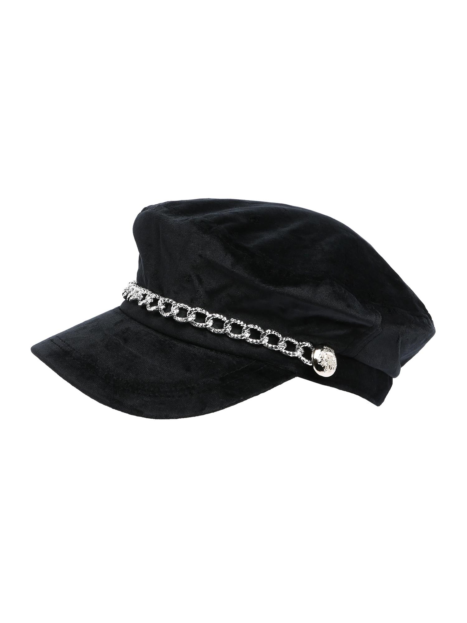 ABOUT YOU Megzta kepurė 'Ariana' juoda