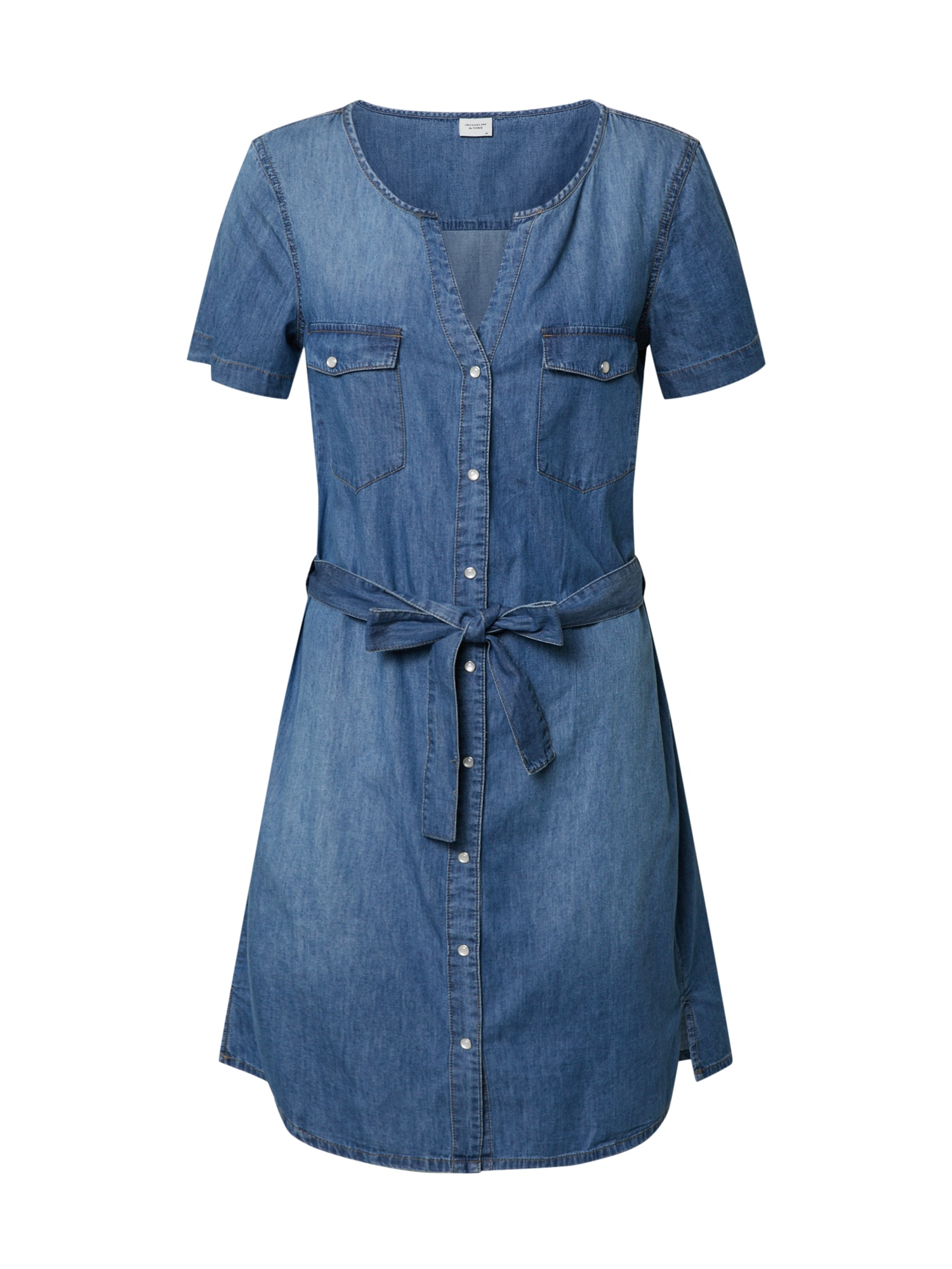 JACQUELINE de YONG Suknelė 'SAINT LIFE' tamsiai (džinso) mėlyna