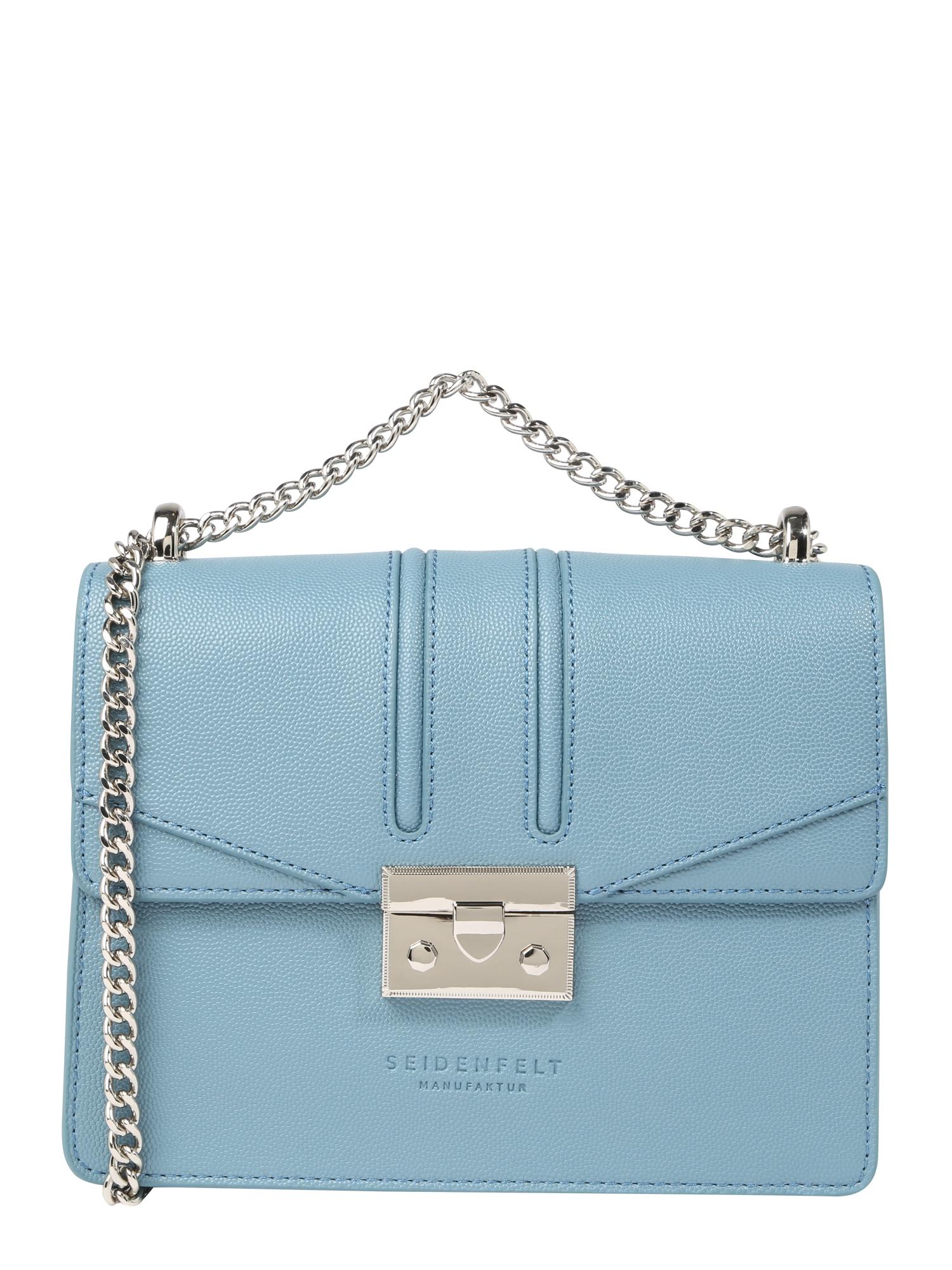 Taška přes rameno ROROS modrá Seidenfelt Manufaktur