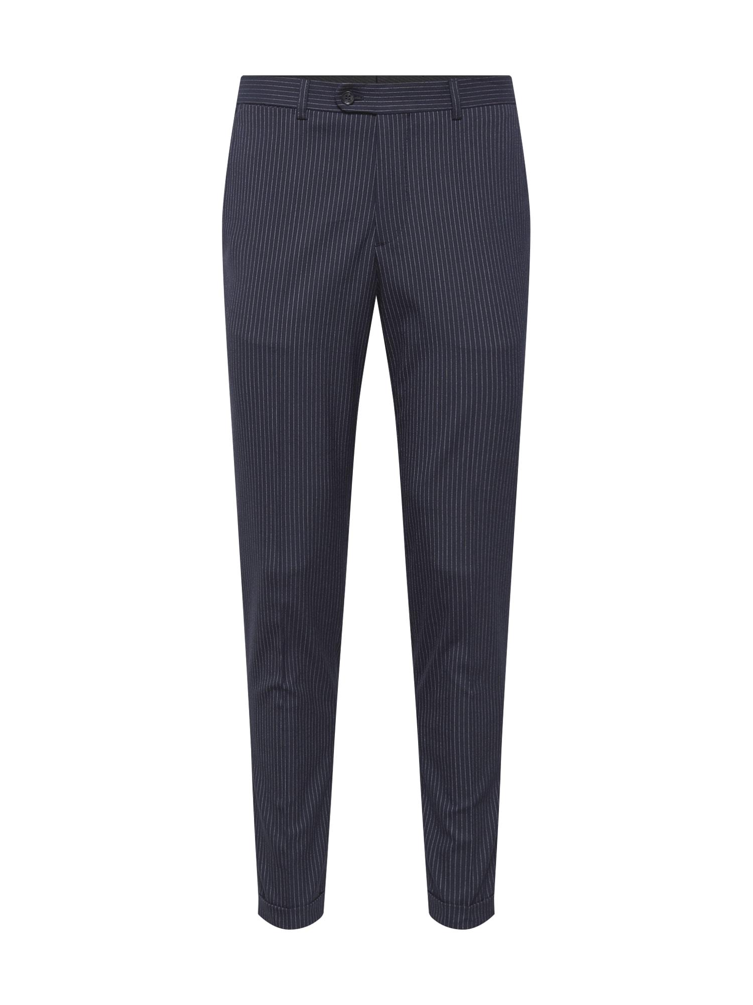Kalhoty JPRSID TROUSER námořnická modř JACK & JONES