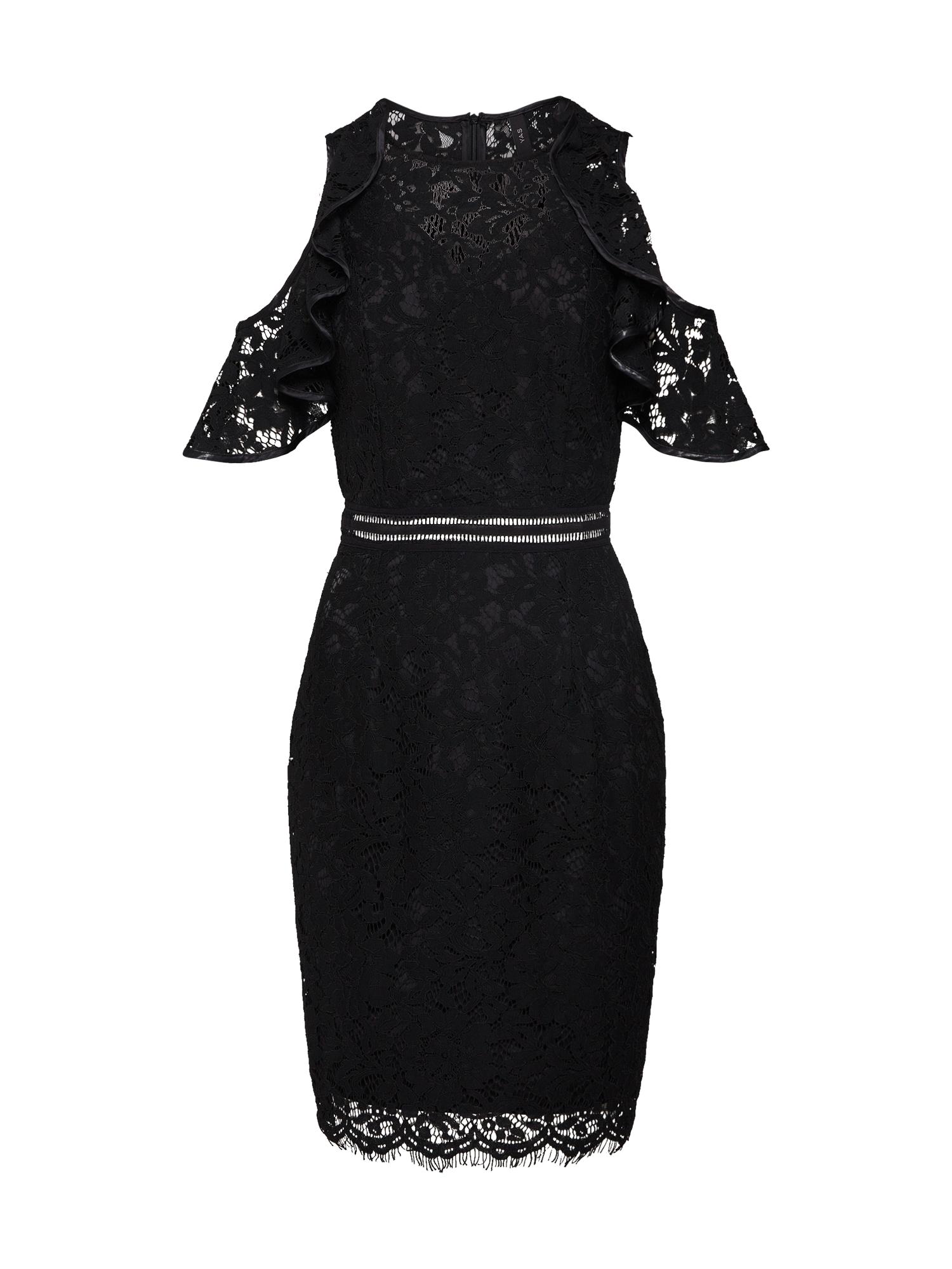 Šaty NICOLA černá Y.A.S