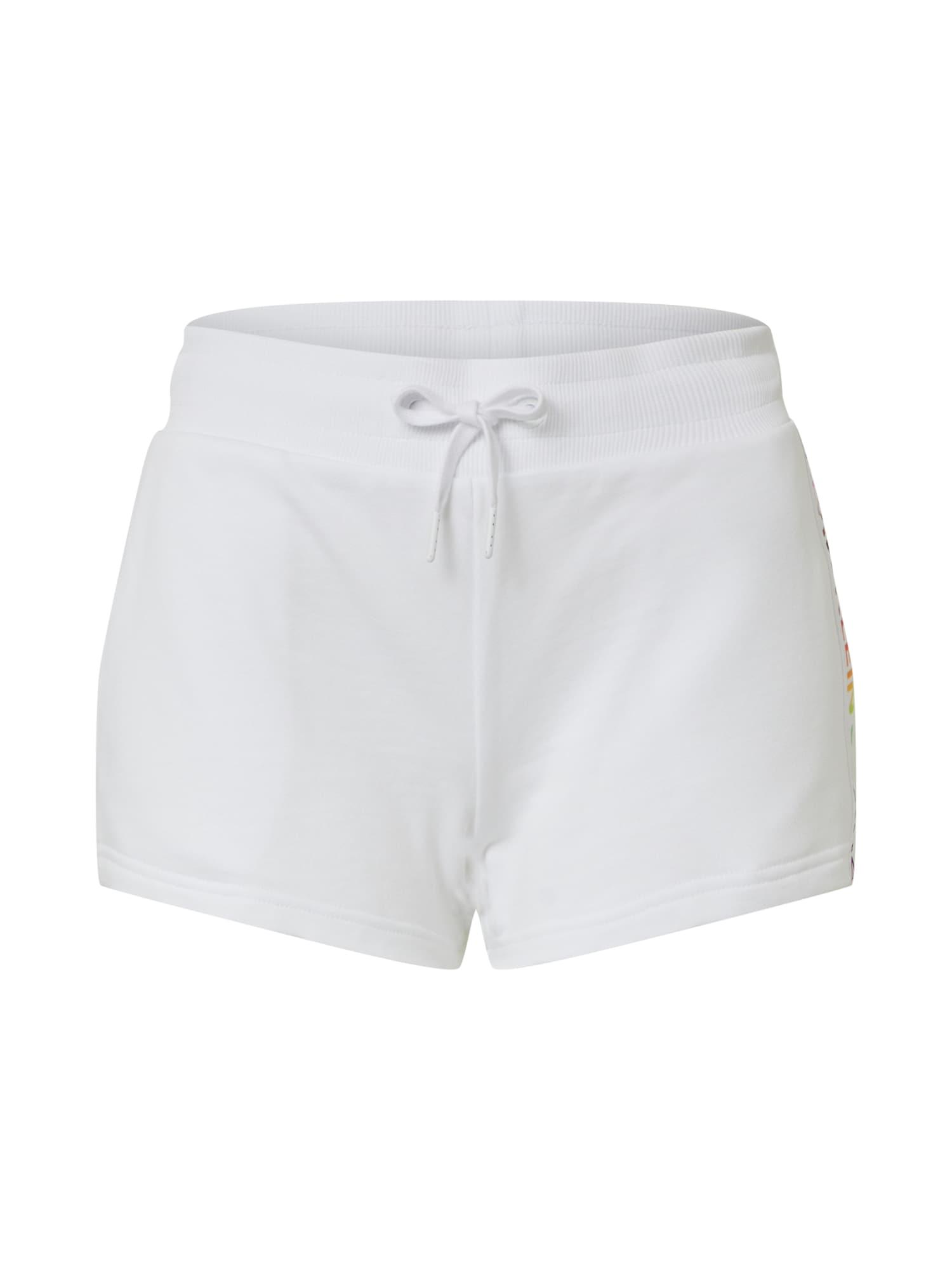 Calvin Klein Jeans Kelnės 'INSTITUTIONAL HWK SHORT' balta