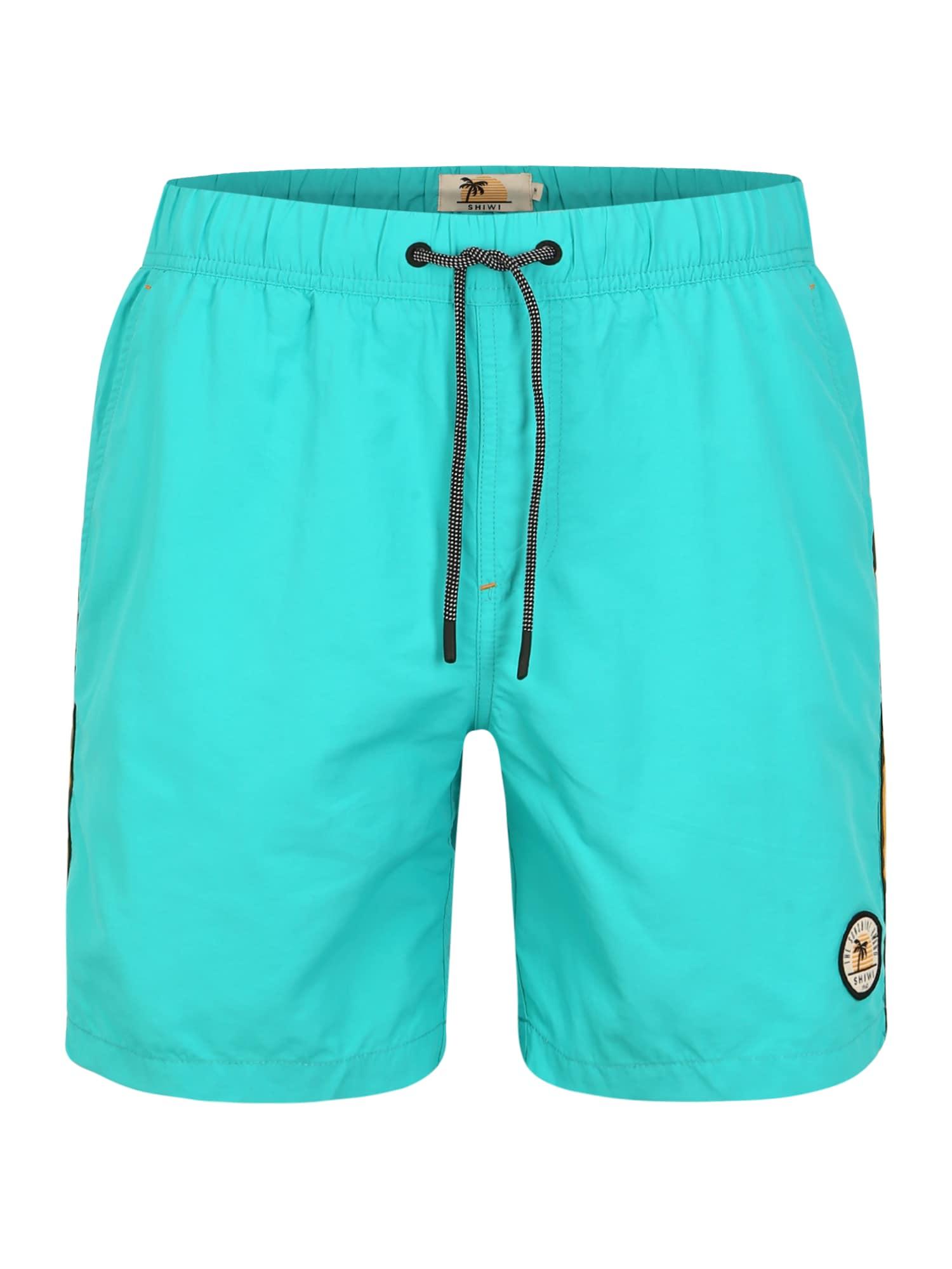 Shiwi Plavecké šortky  tyrkysová