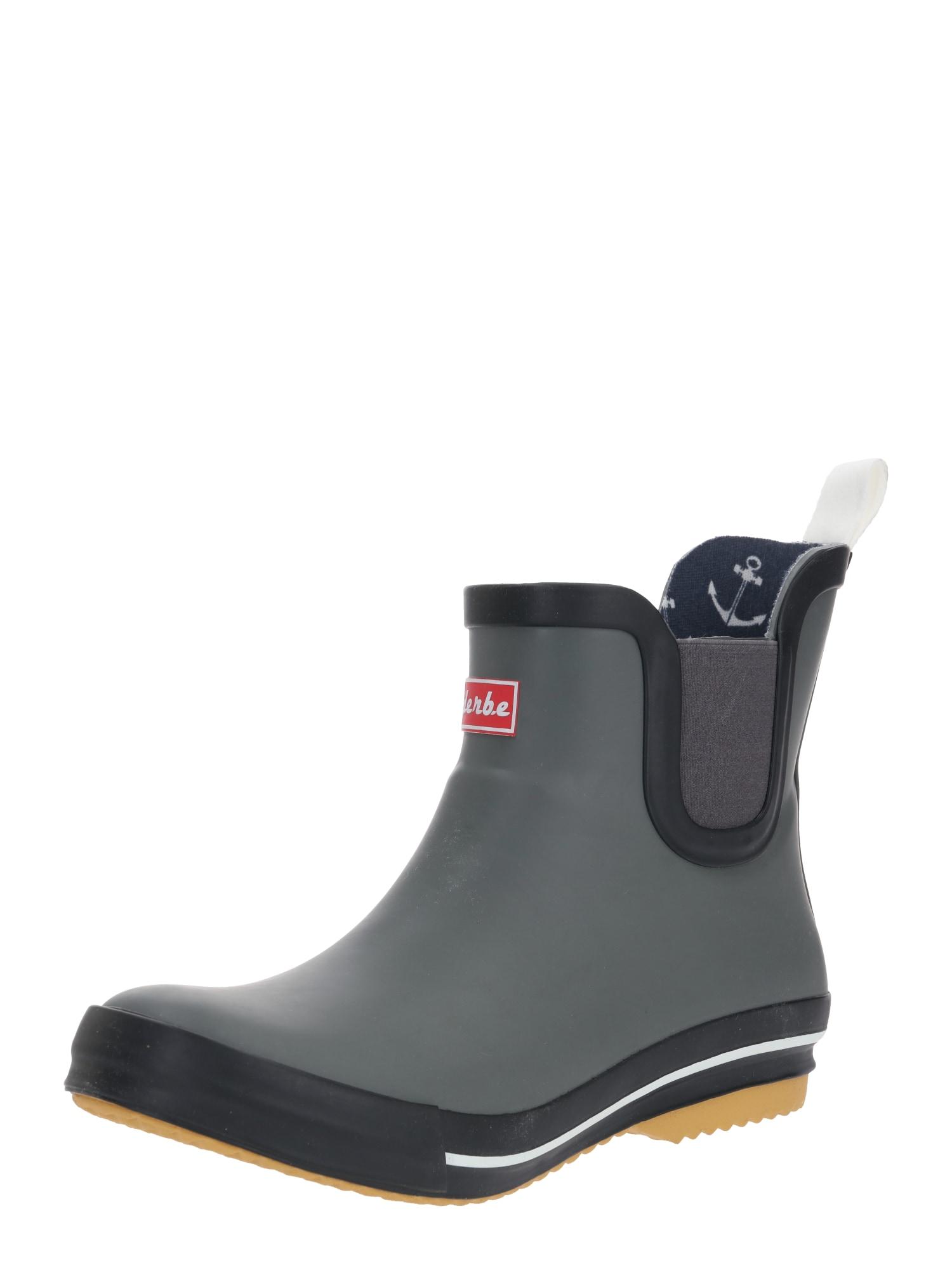 Derbe Guminiai batai 'Wattpuuschen' pilka