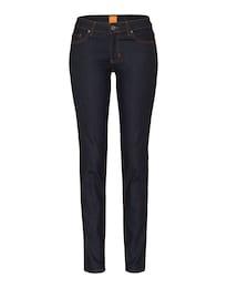 BOSS Damen Orange J20 Rienne Slimfit Jeans blau   04029044310919