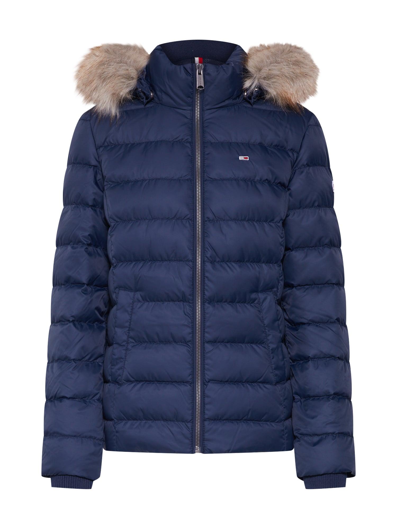 Zimní bunda námořnická modř Tommy Jeans