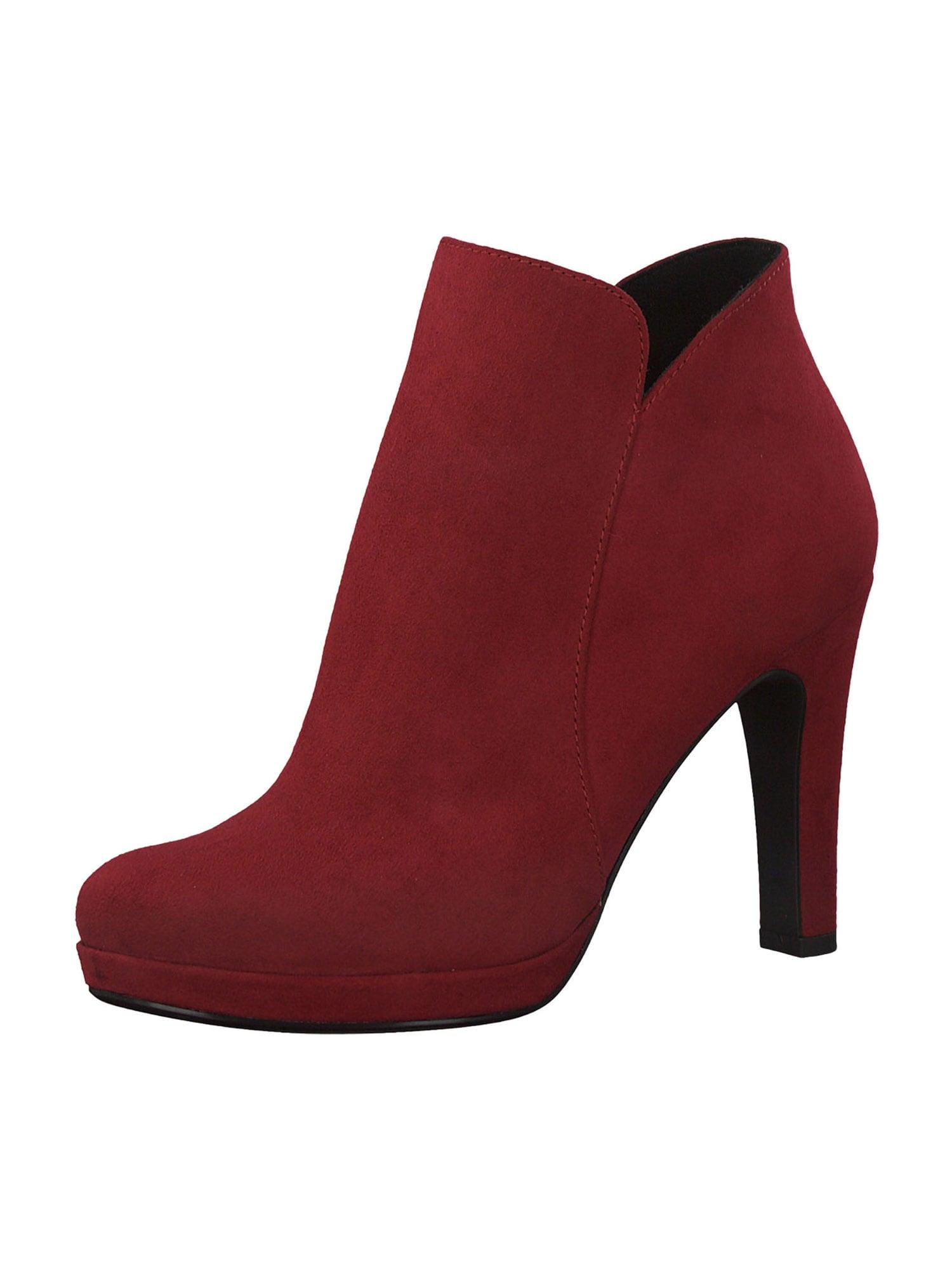 TAMARIS Kulkšnis dengiantys batai raudona