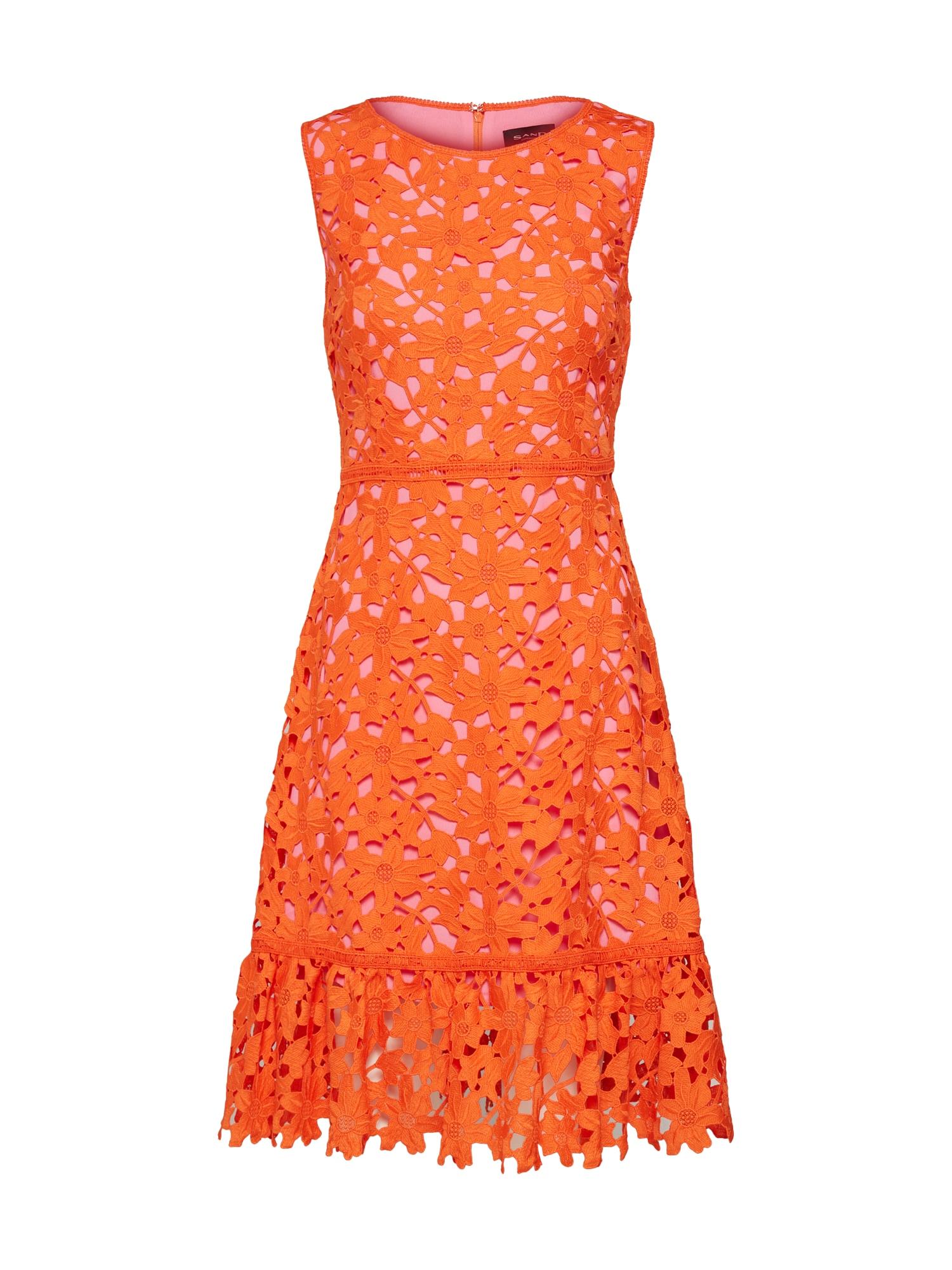 Šaty Jo tmavě oranžová SAND COPENHAGEN