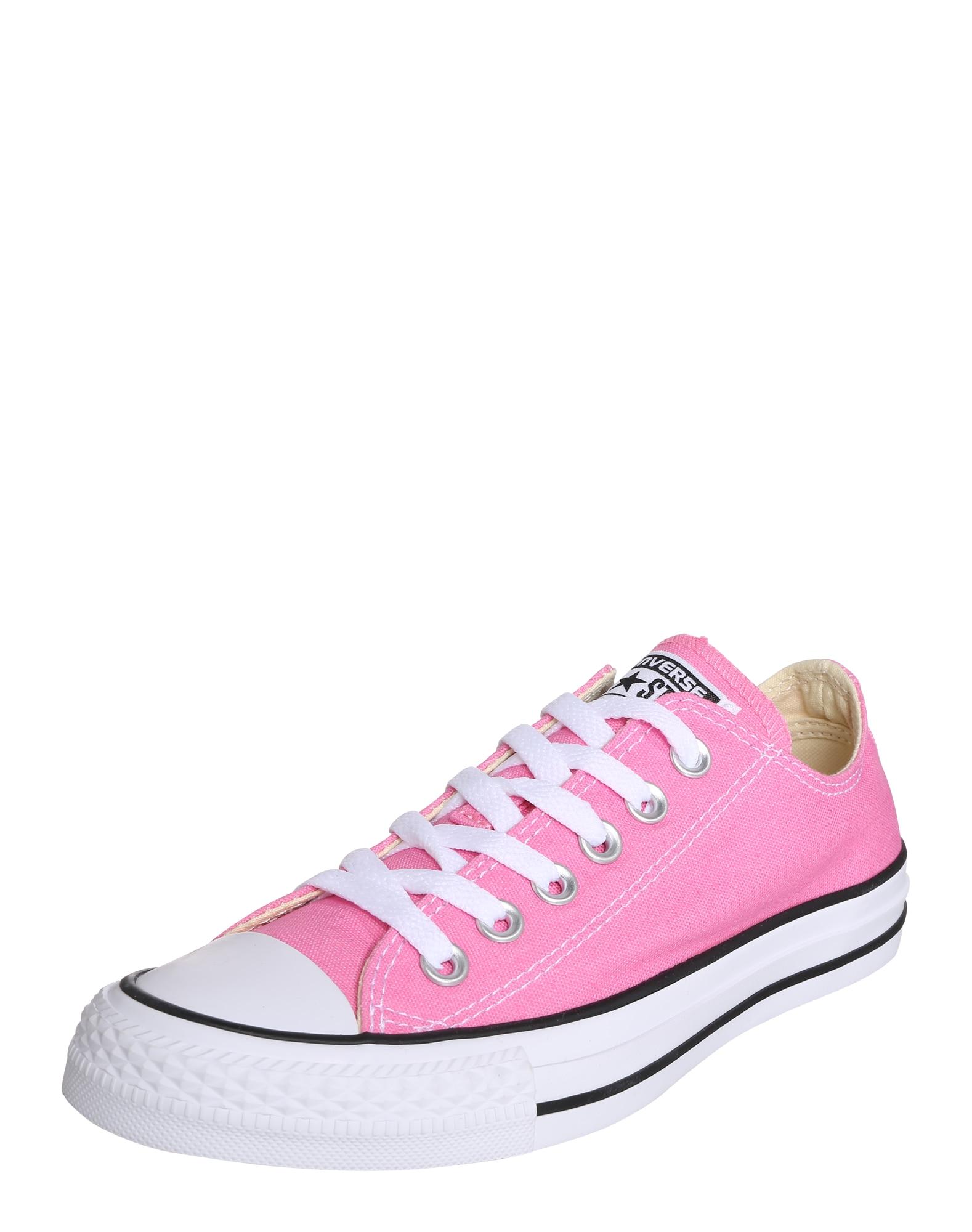 CONVERSE Sportbačiai be auliuko balta / rožinė