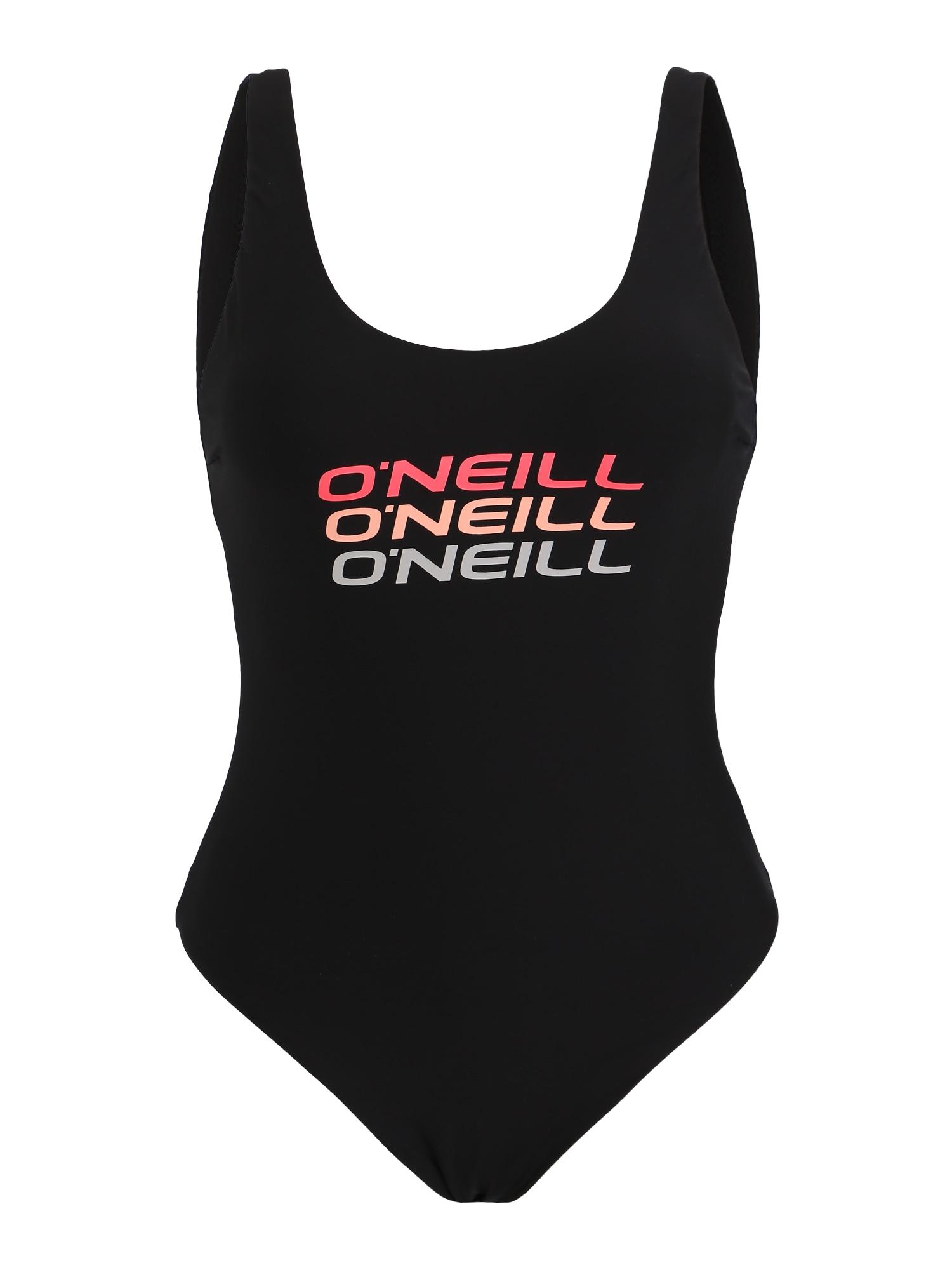 ONEILL Sportovní plavky LOGO TRIPPLE černá O'NEILL